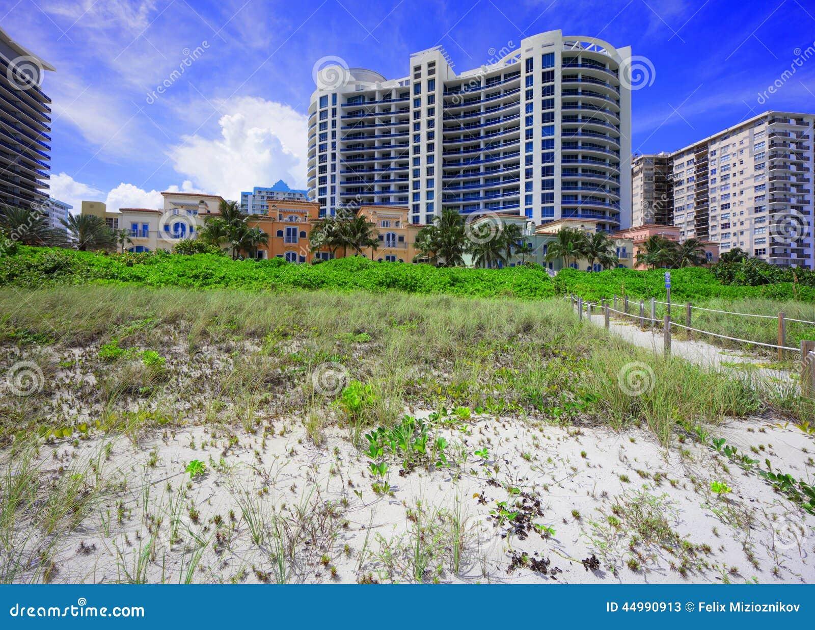 Collins Avenue Miami Beach Fl  Usa