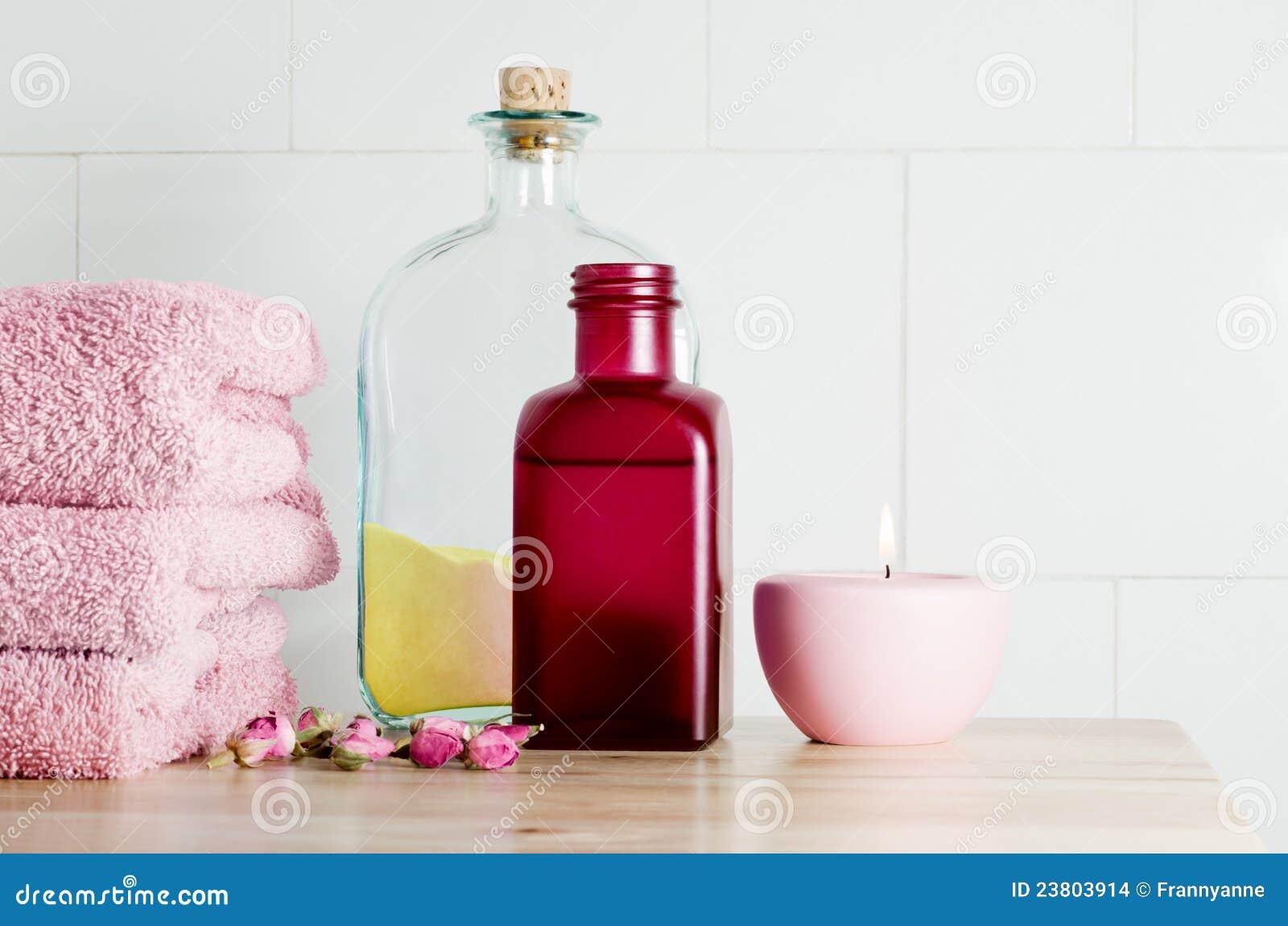 Bath items spa