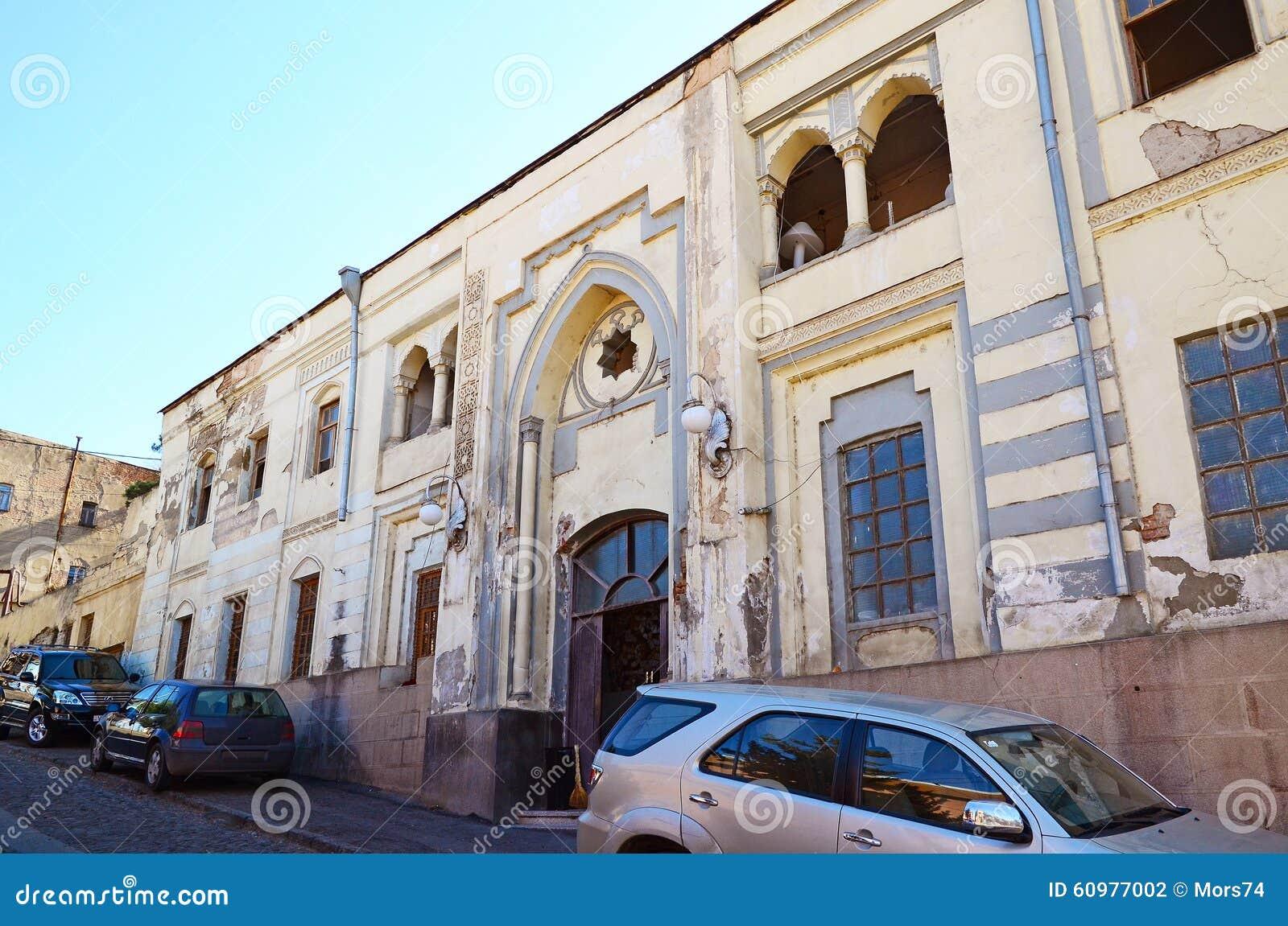 Bath Medical Corps. Abanotubani - Hot Sulfur Baths District In Old ...