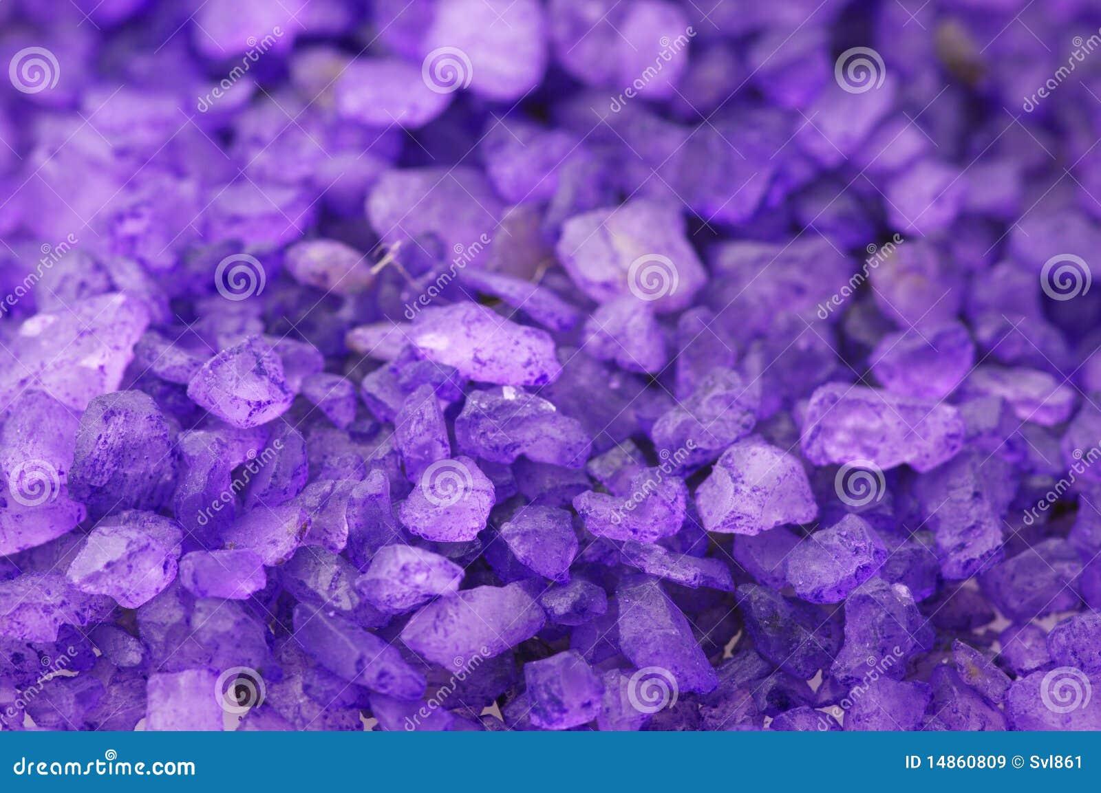Bath salt close-up