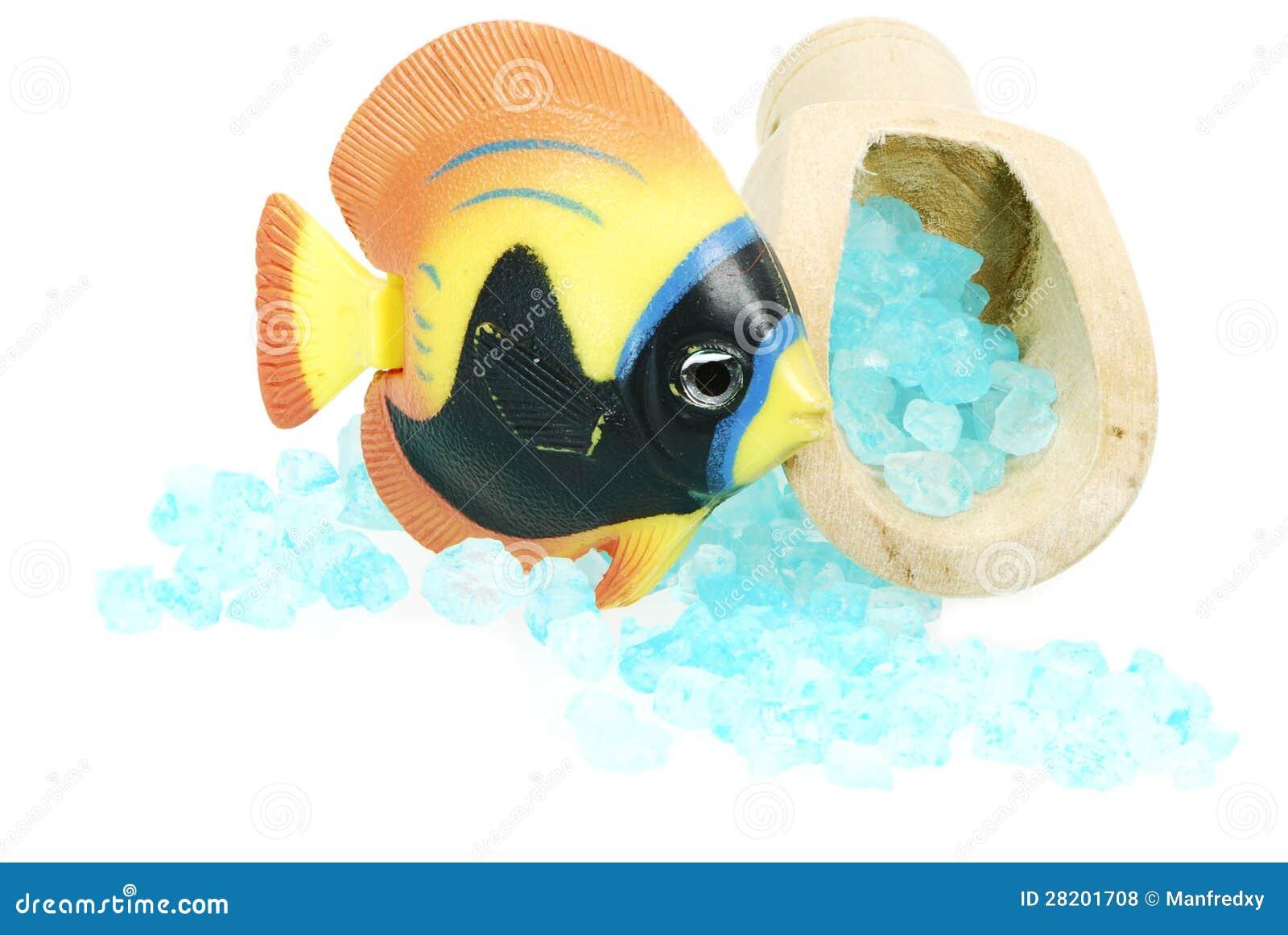 Bath salt and fish royalty free stock photos image 28201708 for Salt bath for fish