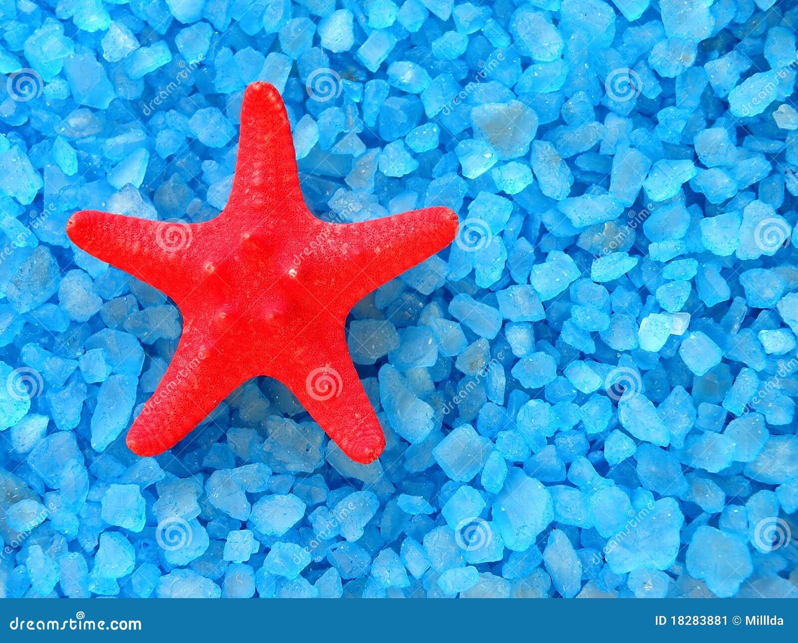 Bath salt and starfish stock image image 18283881 for Salt bath for fish