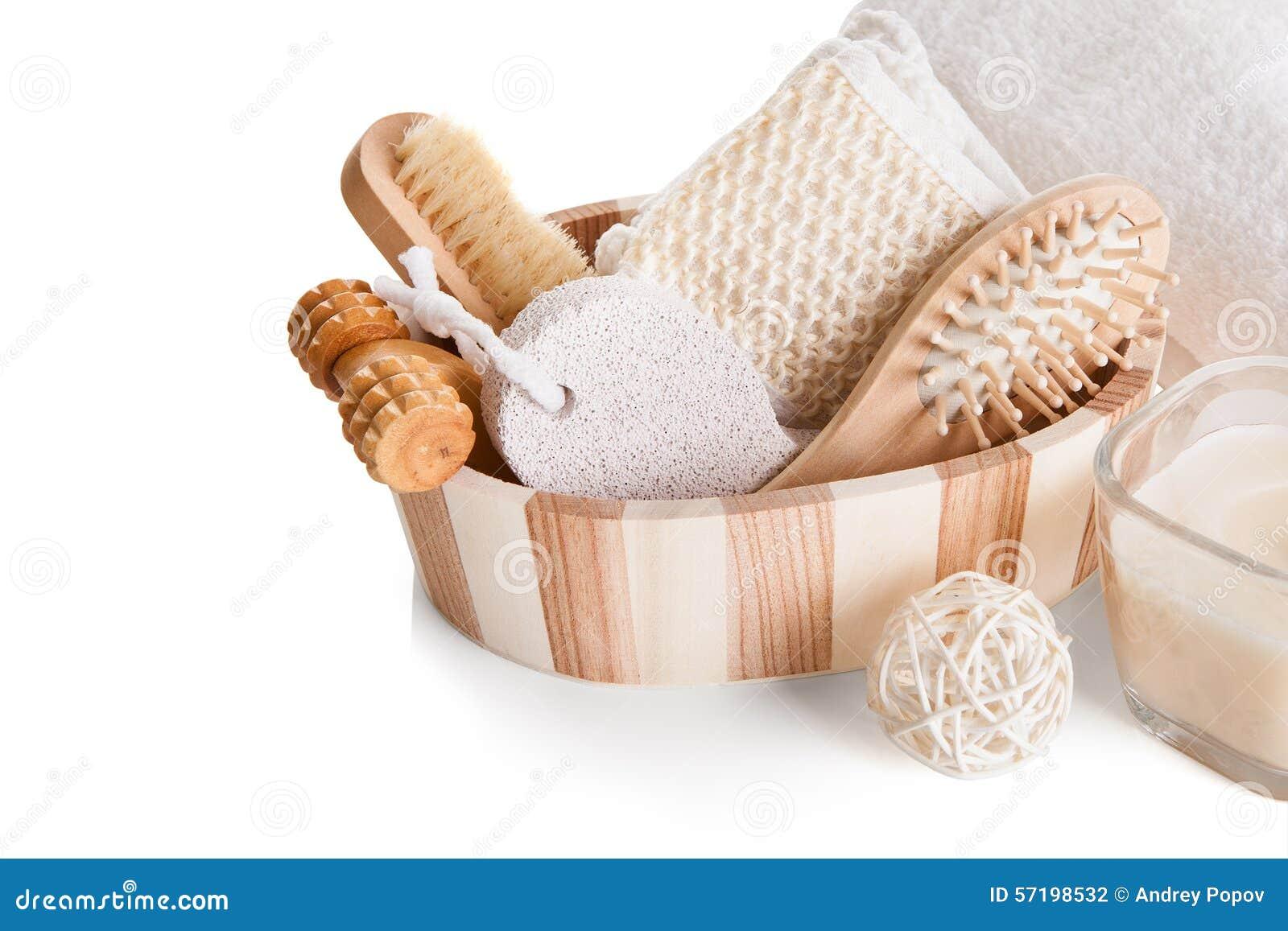 bath spa massage kit stock photo image 57198532