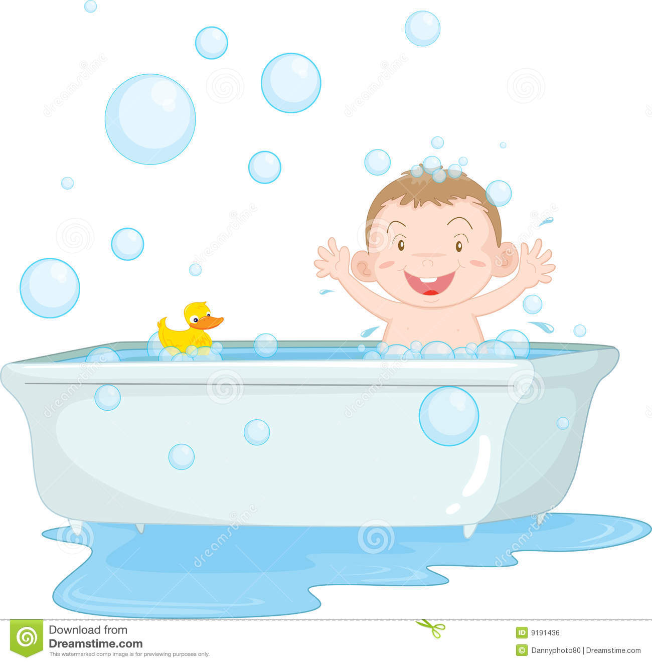 Bath Time Royalty Free Stock Image - Image: 9191436