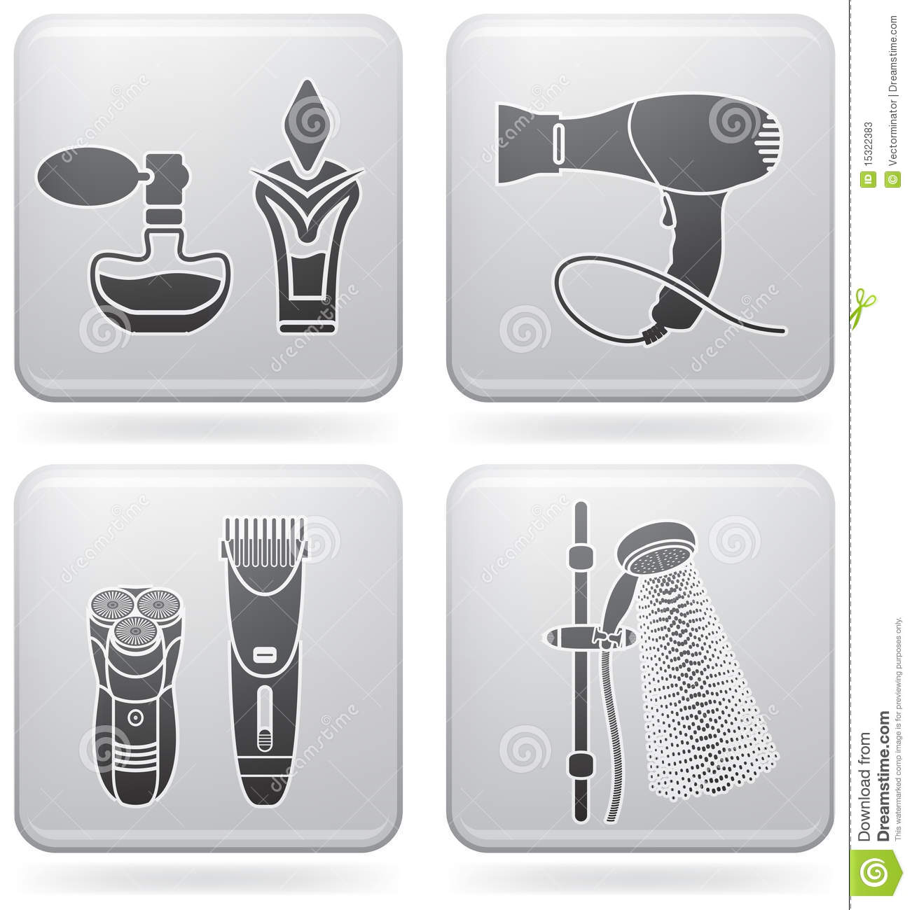Bath utensils stock photos image 15322383 for Bathroom utensils