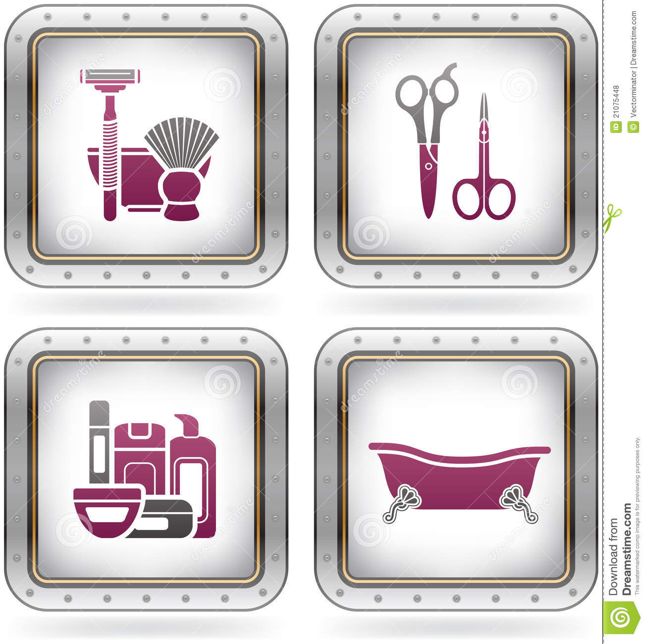 Bath utensils royalty free stock photos image 21075448 for Bathroom utensils