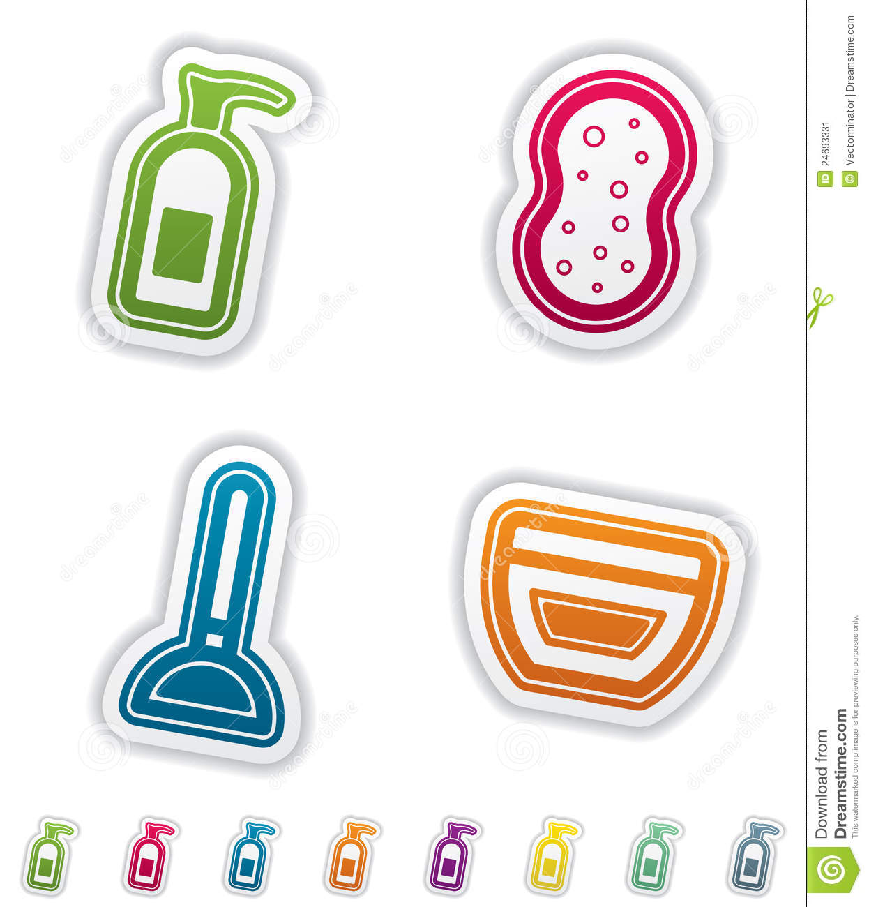 Bath utensils stock image image 24693331 for Bathroom utensils