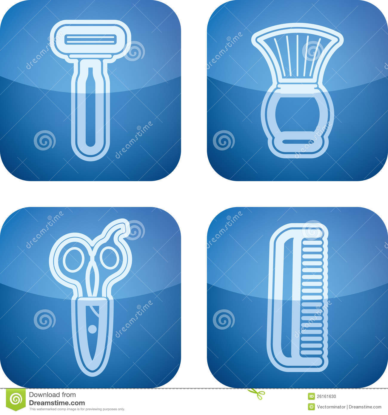 Bath utensils stock photo image 26161630 for Bathroom utensils