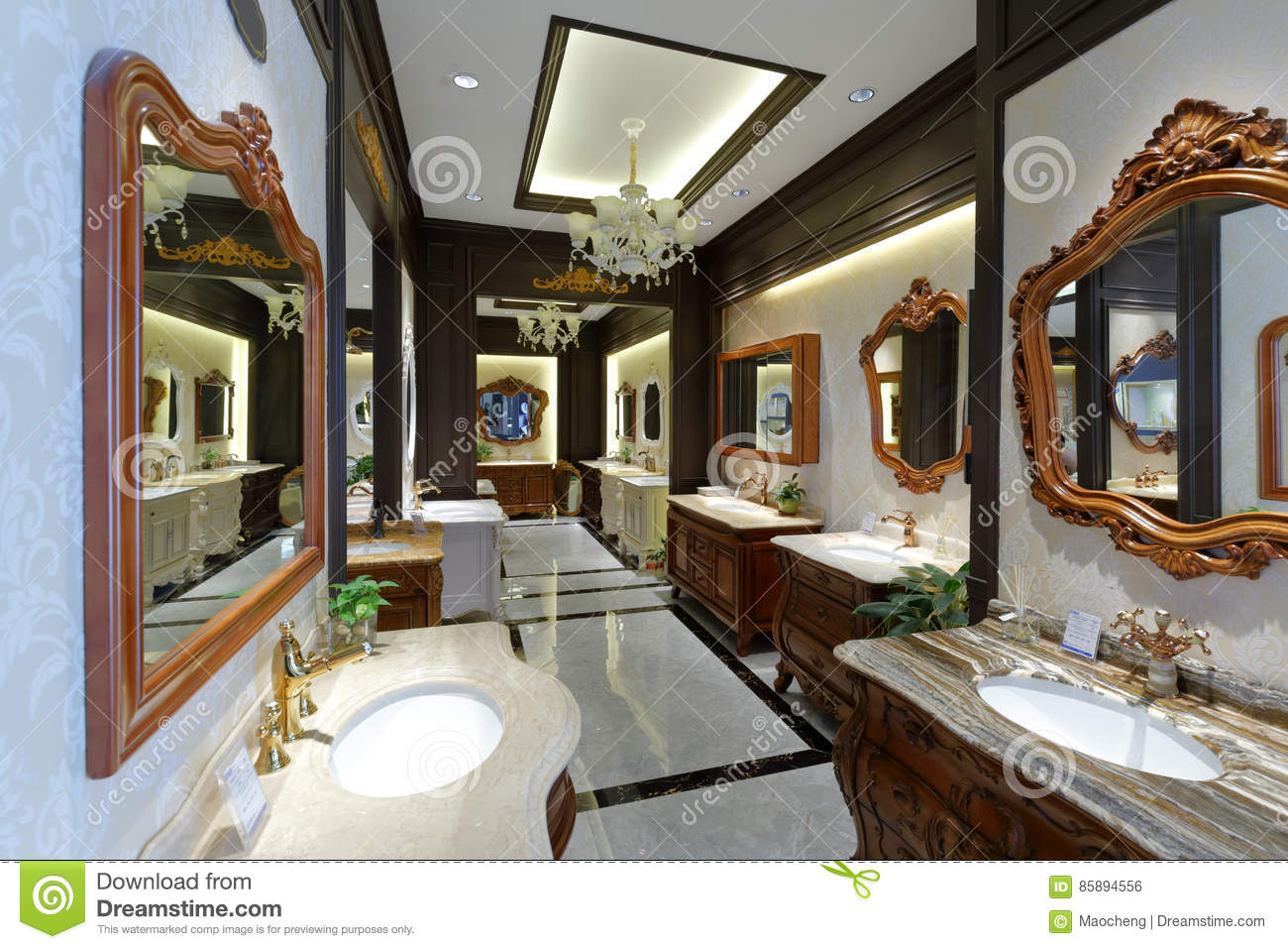 Bathroom Building Materials In Home Decoration Store