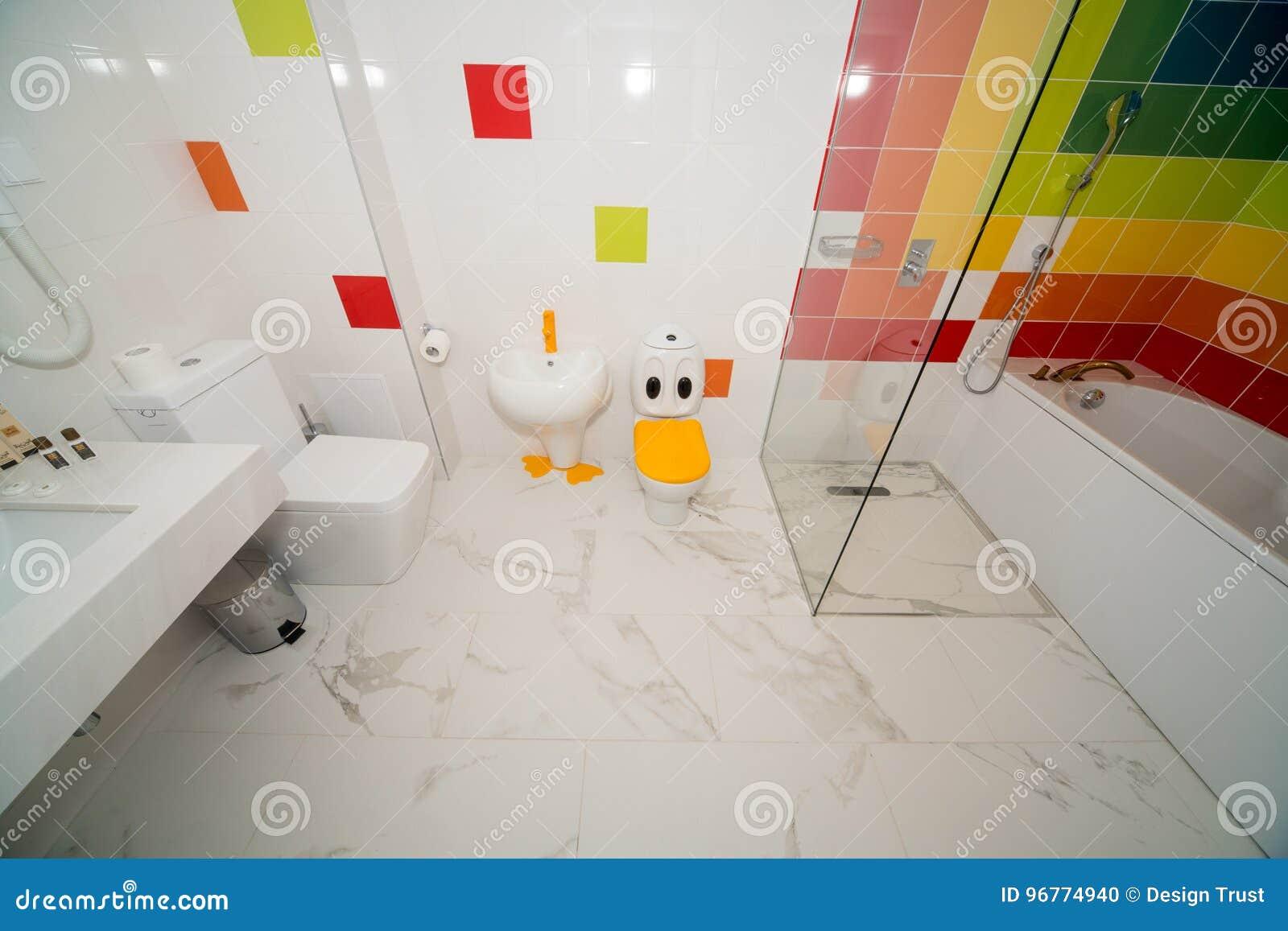 Bulgarian Girl bathroom