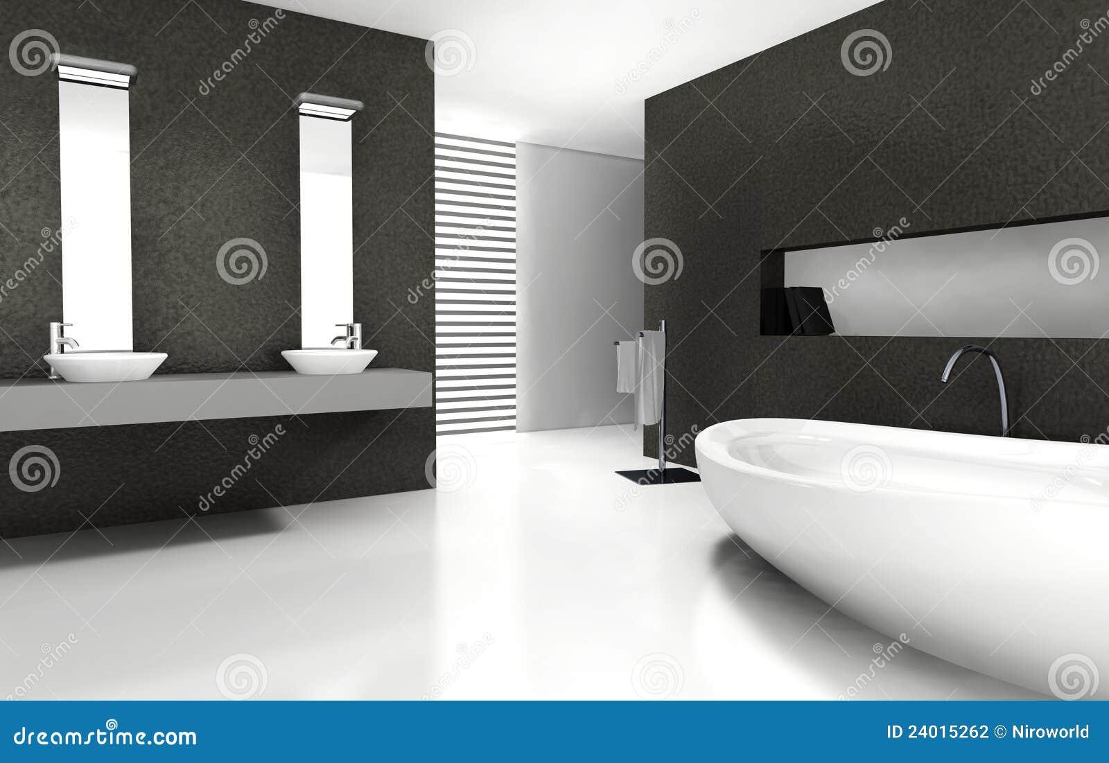 Bathroom Design stock illustration. Illustration of elegance - 24015262
