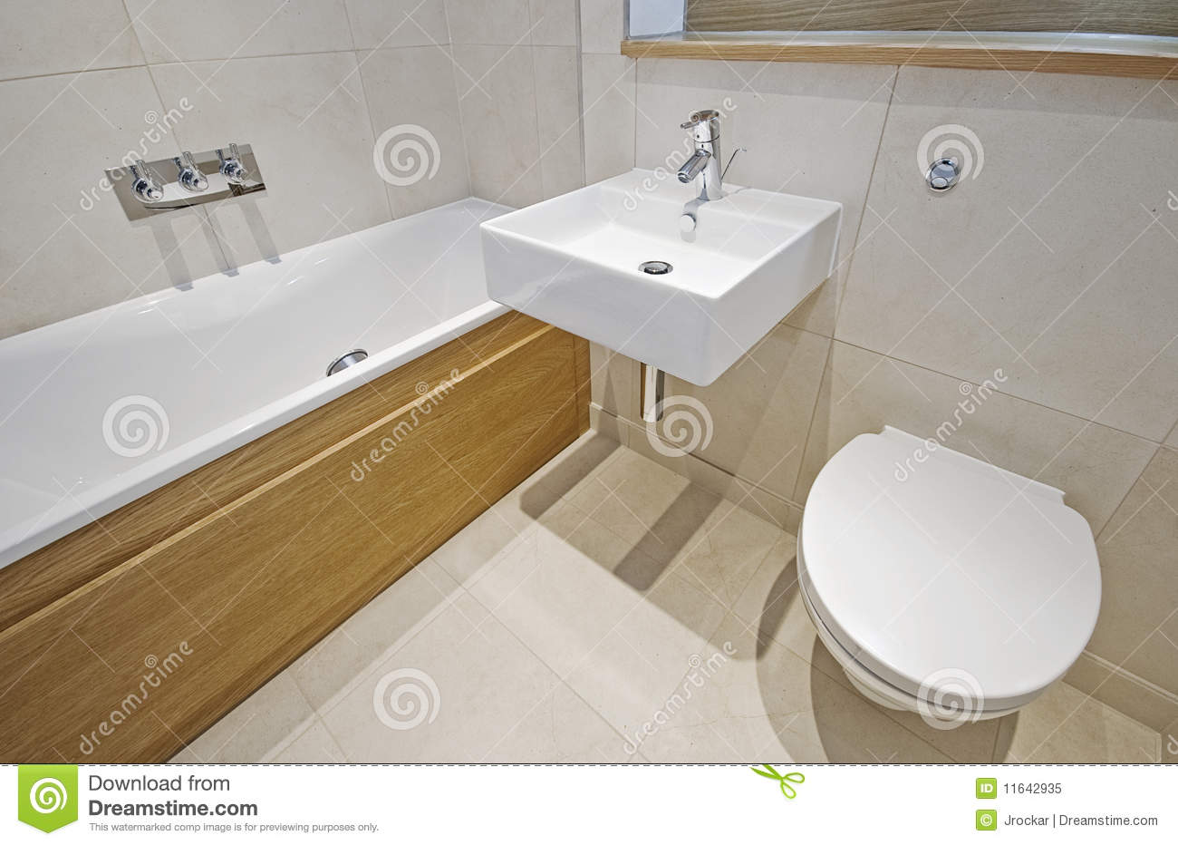Bathroom with designer appliances royalty free stock photo for Restroom appliances