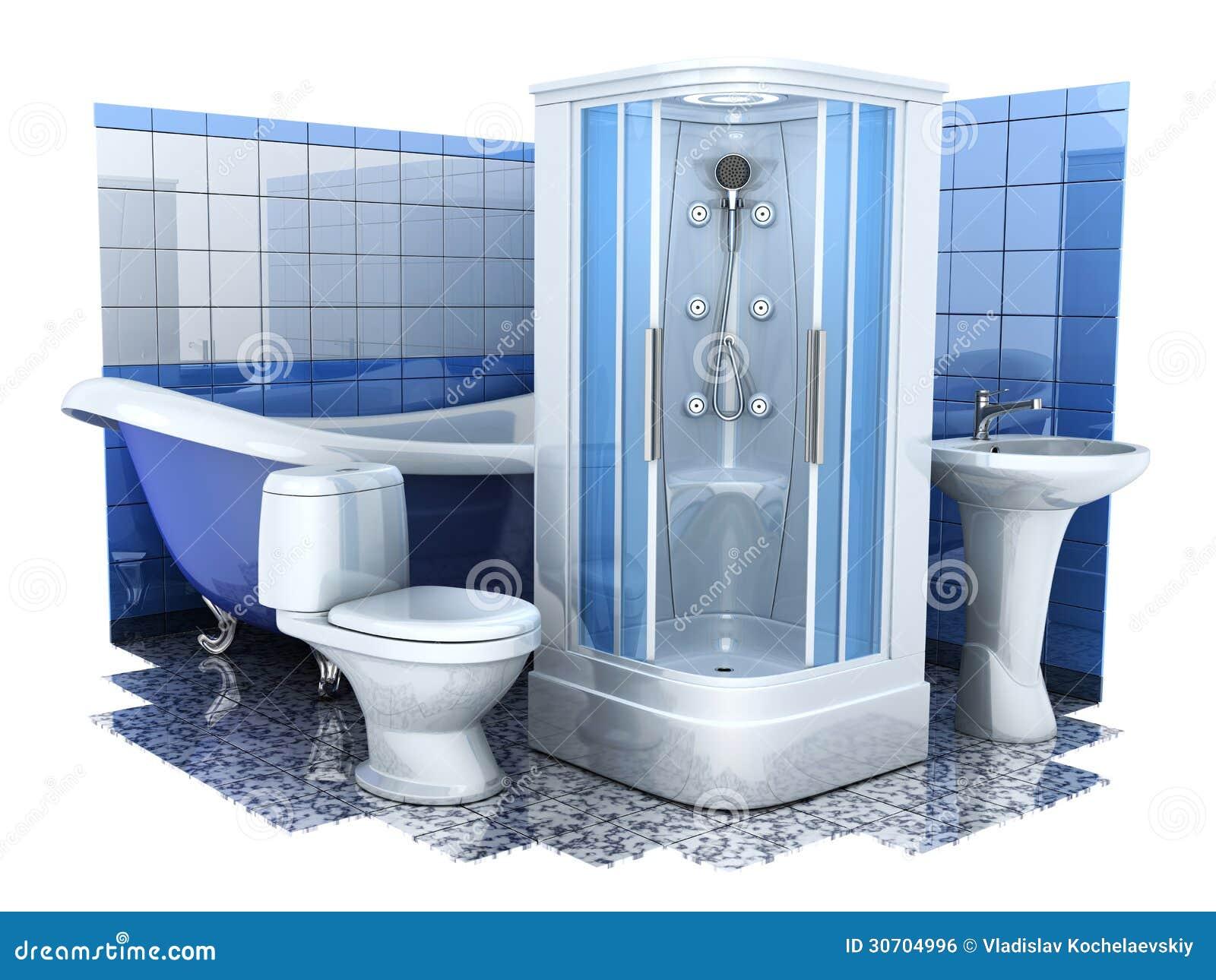Bathroom equipment 3d royalty free stock image image for Bathroom 94 percent
