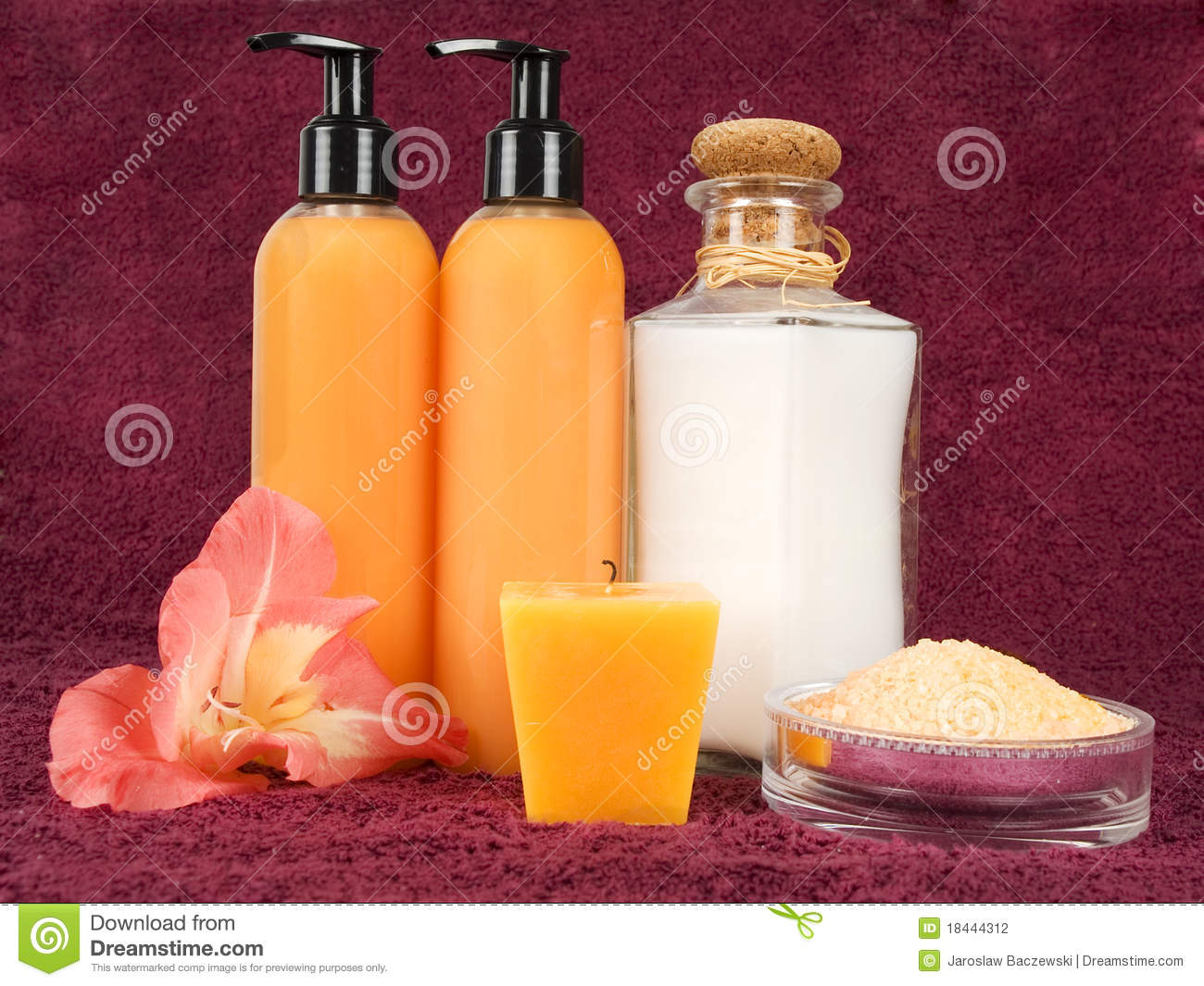 Bathroom essentials stock photography image 18444312 for Bathroom essentials