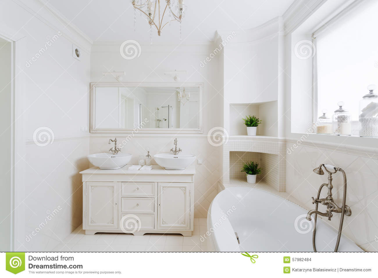 #85A724 Bathroom In The French Style Stock Photo Image: 57982484 1300x957 px Banheiro Frances 3141