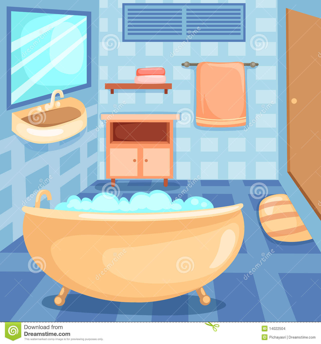 Bathroom Icons Set Stock Vector Illustration Of Health
