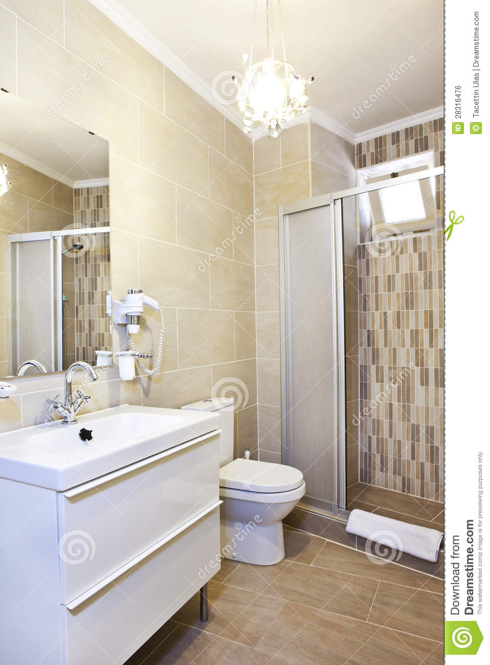 Bathroom Interior Royalty Free Stock Image Image 28316476