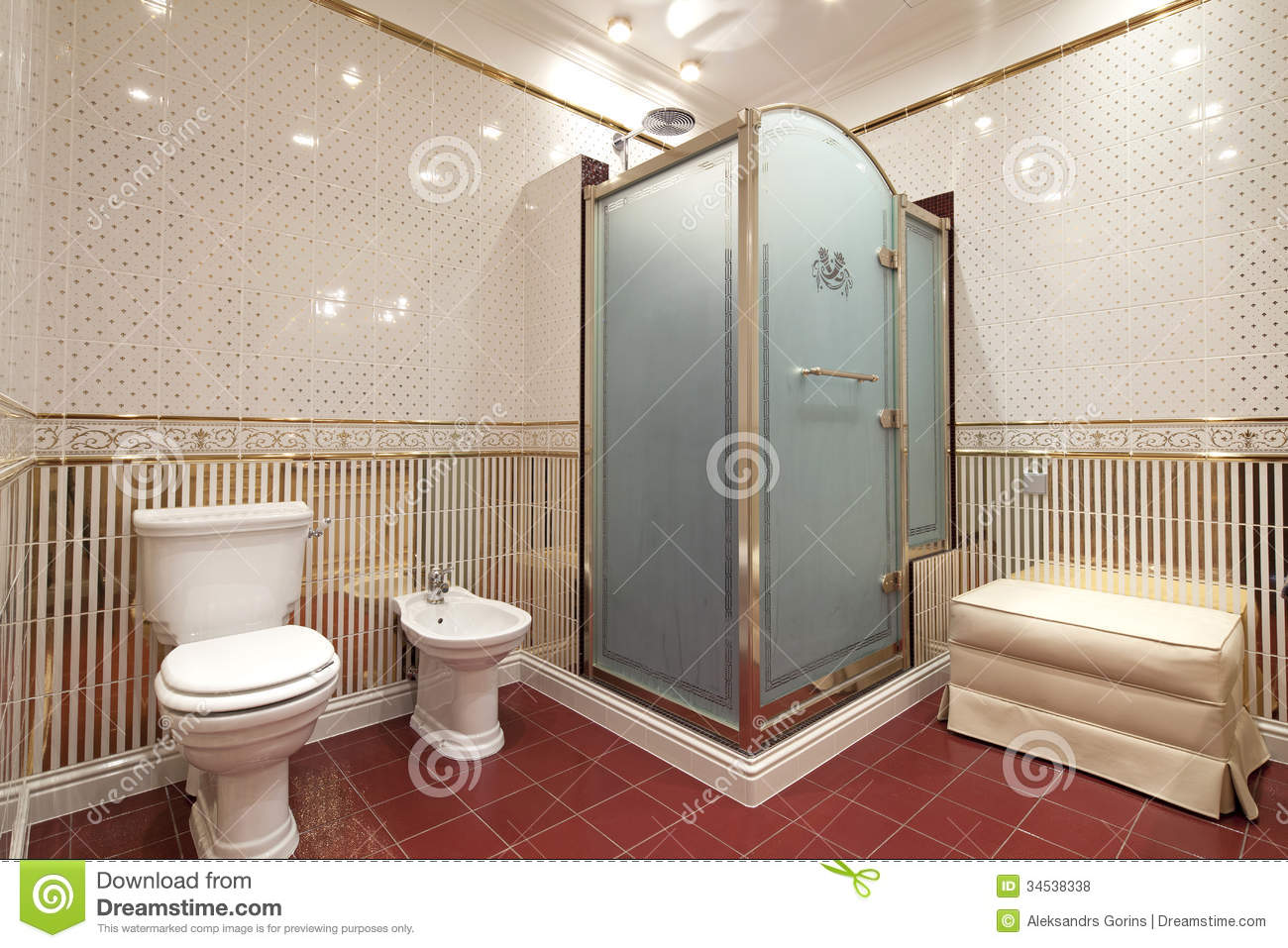 Bathroom stock photo image of real mirrors sink glass for New washroom designs