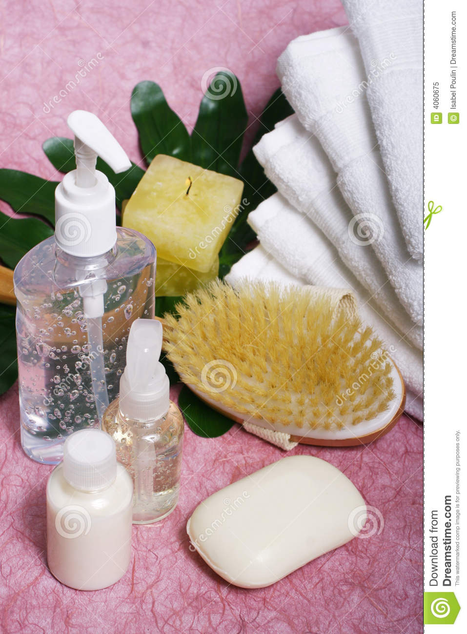 Bathroom items composition royalty free stock photo for Bathroom things