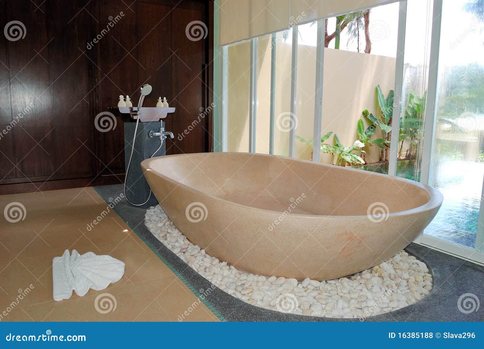 Bathroom at the luxury villa