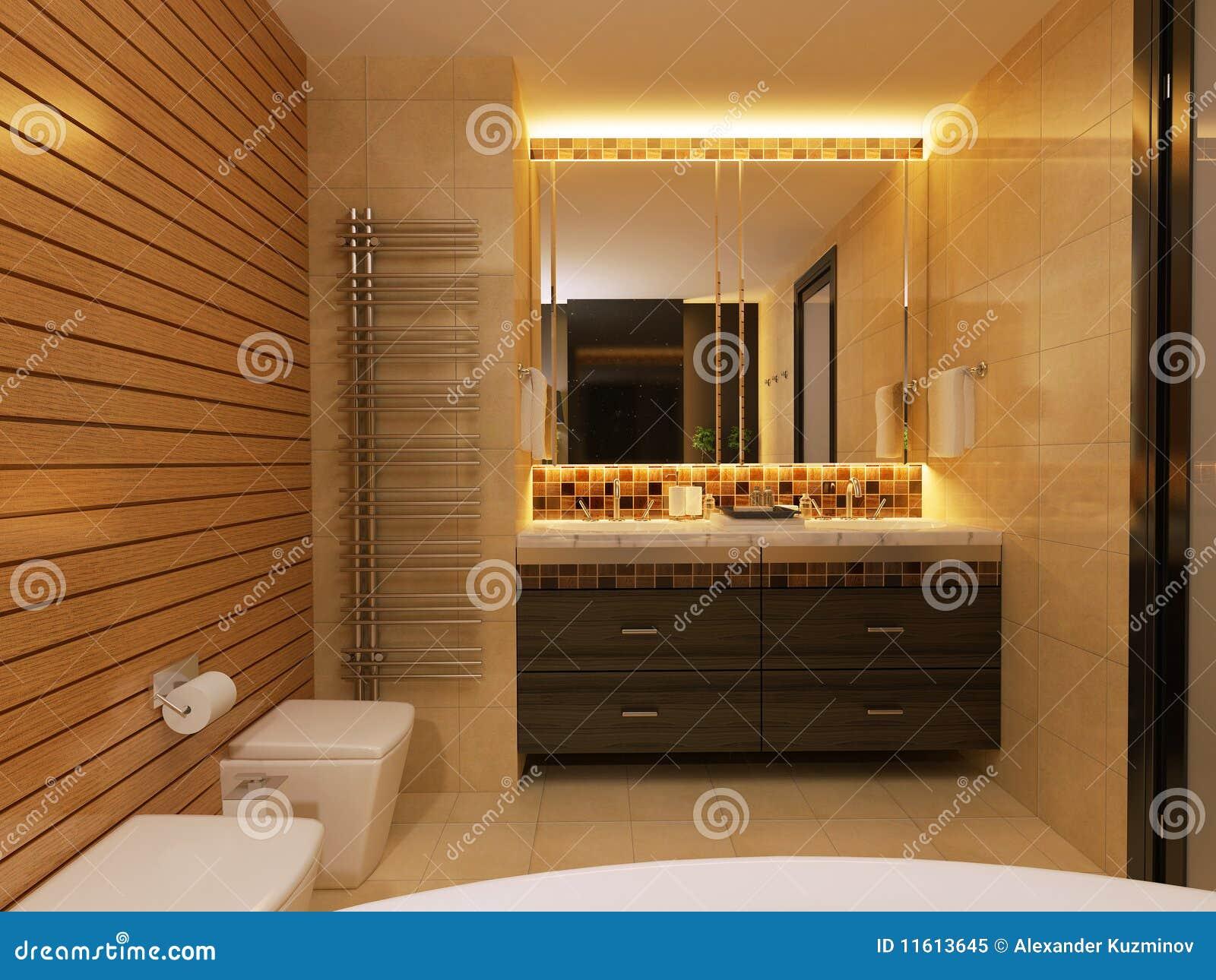 BathroomMirrorDressing Table Royalty Free Stock Photo