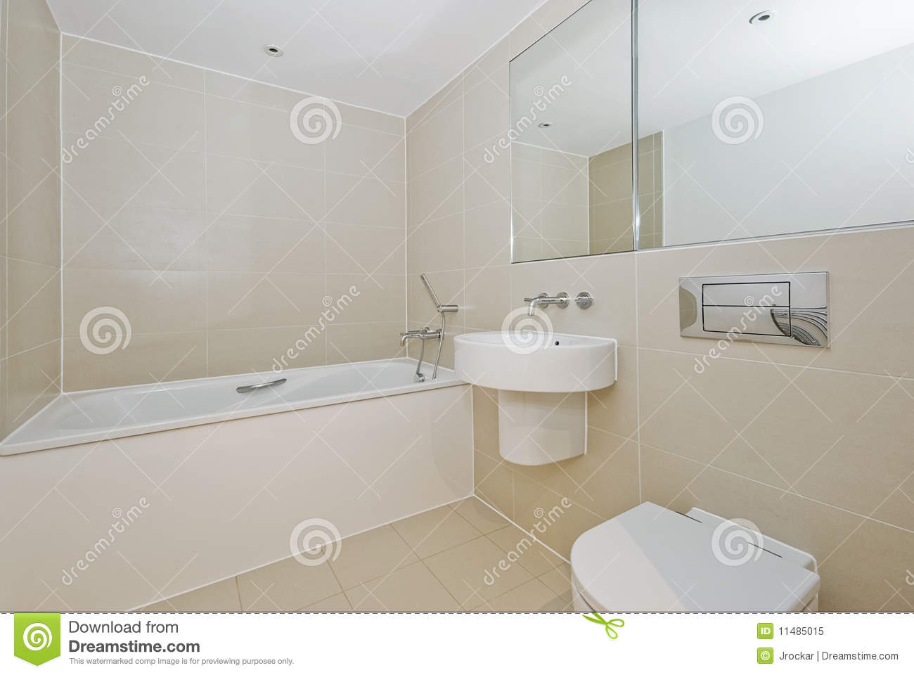 Bathroom with modern appliances stock image image 11485015 for Bathroom appliances