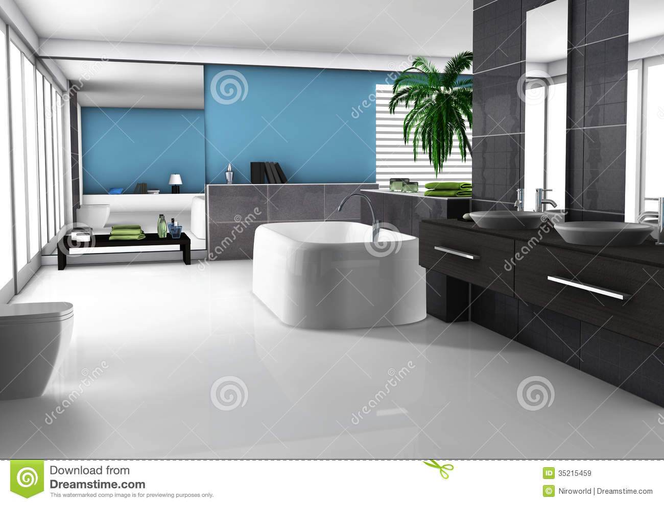 Bathroom royalty free stock images image 35215459 for Modern furniture names