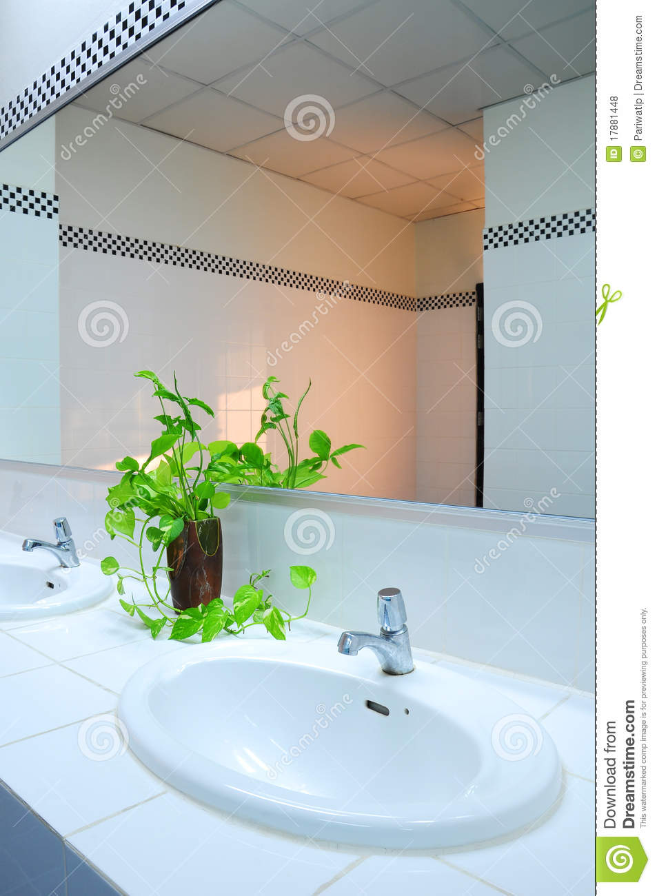 Bathroom At Office Royalty Free Stock Photos Image 17881448