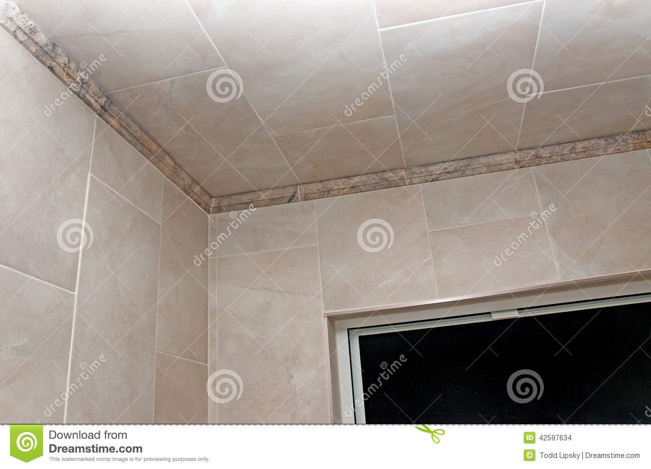 Bathroom Remodeled Stock Photo Image 42597634