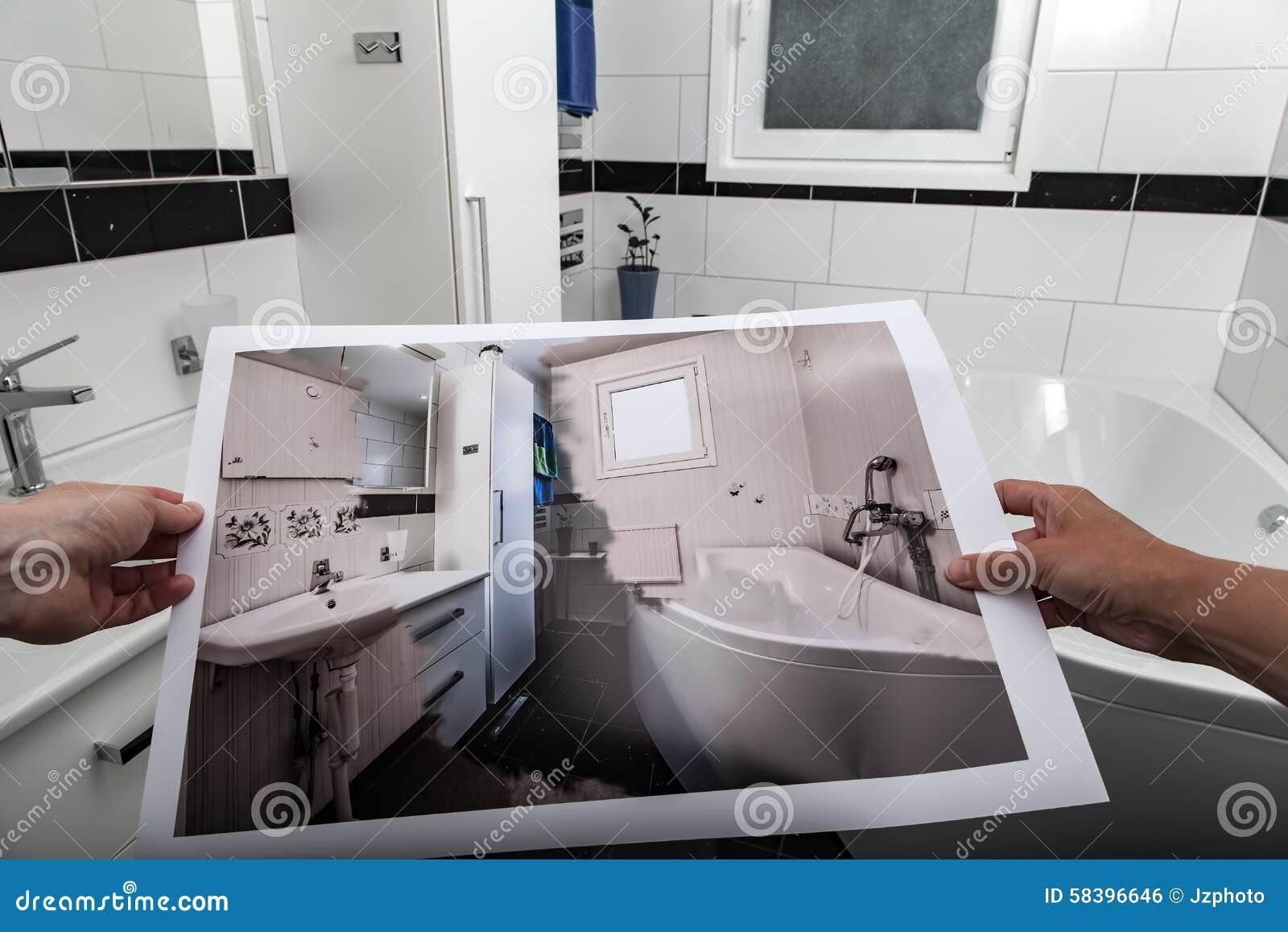 Modern Bathroom Designs Yield Big Returns In Comfort And: Bathroom Royalty-Free Stock Image