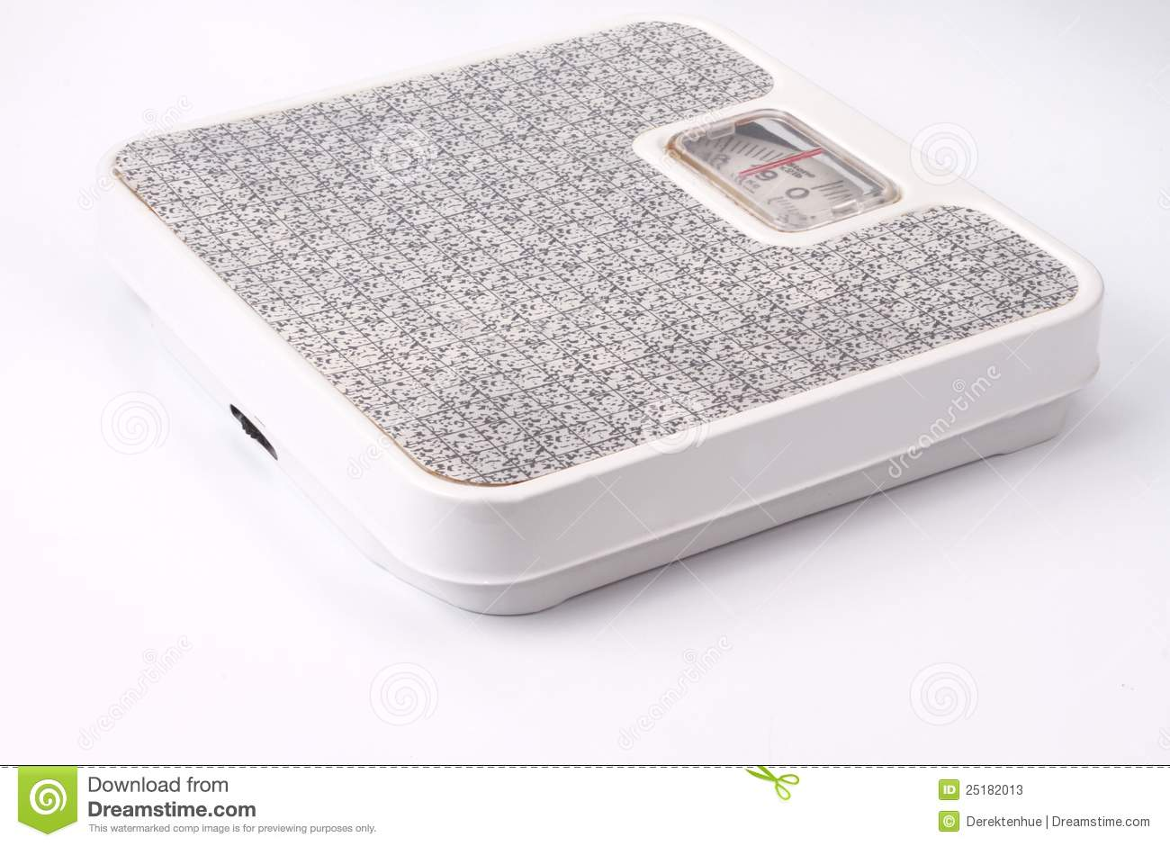 Bathroom Scale Stock Image 25182013