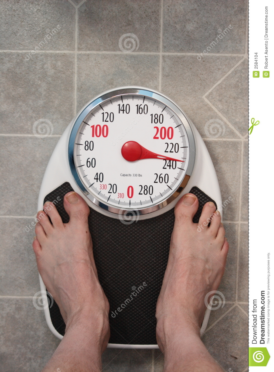 Bathroom Scale Stock Images - Image: 2584104