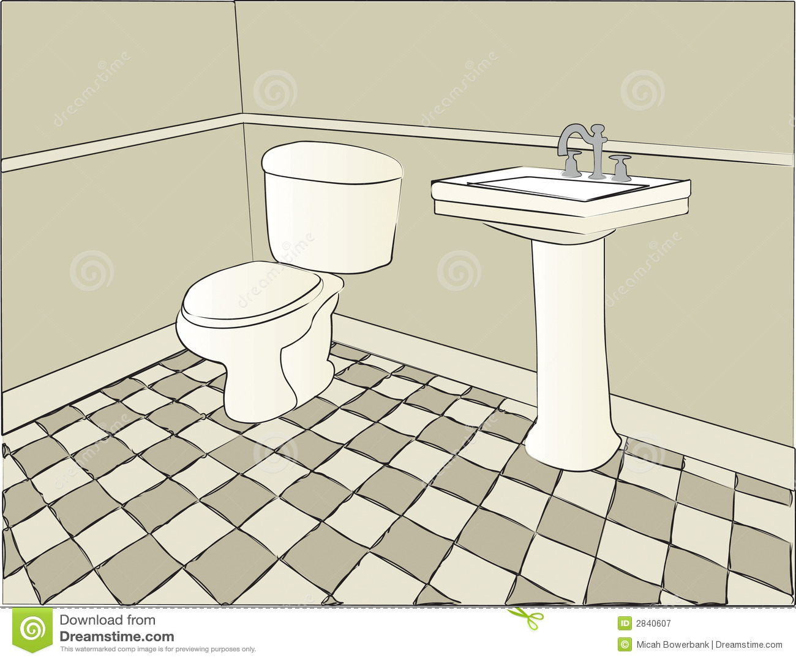 Bathroom and toilet scene stock image for Bathroom scenes photos