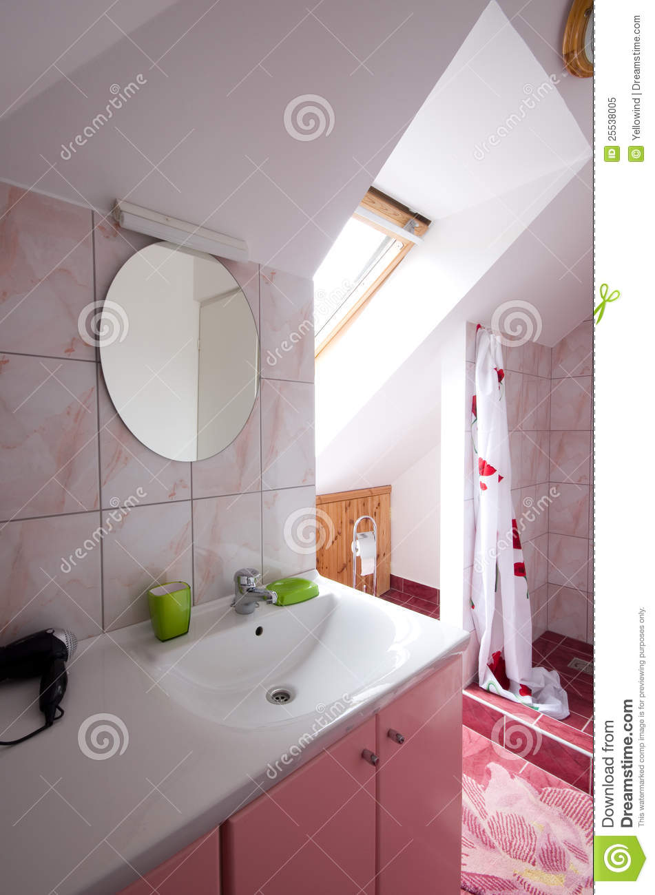 Bathroom With Shower Royalty Free Stock Photo Image 25538005
