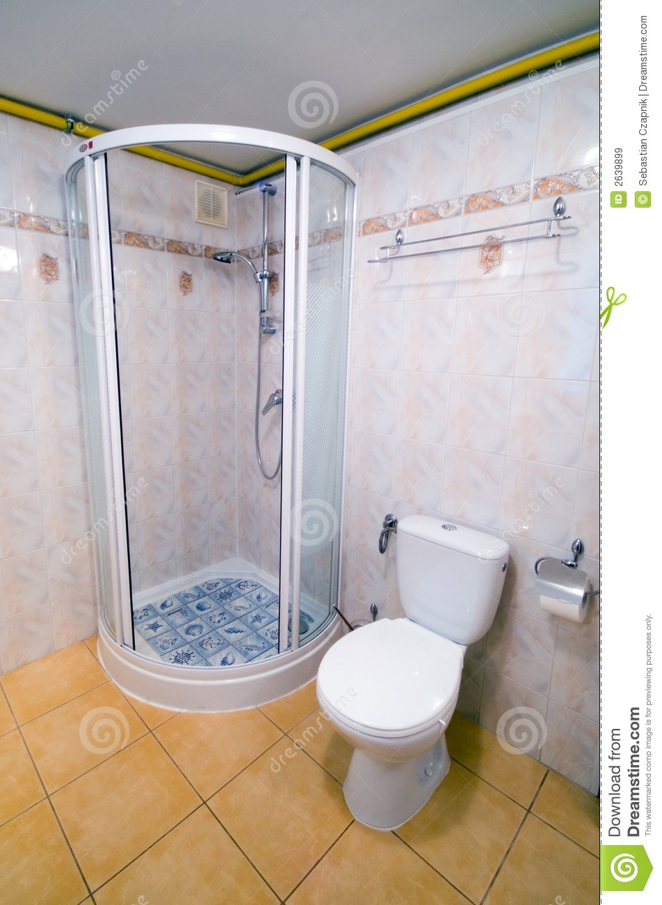 Bathroom Shower Cabin Royalty Free Stock Images Image