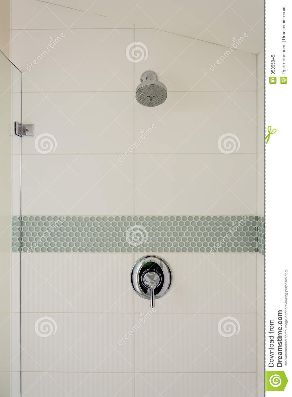 Bathroom Shower And Fixture Stock Image Image Of Bath