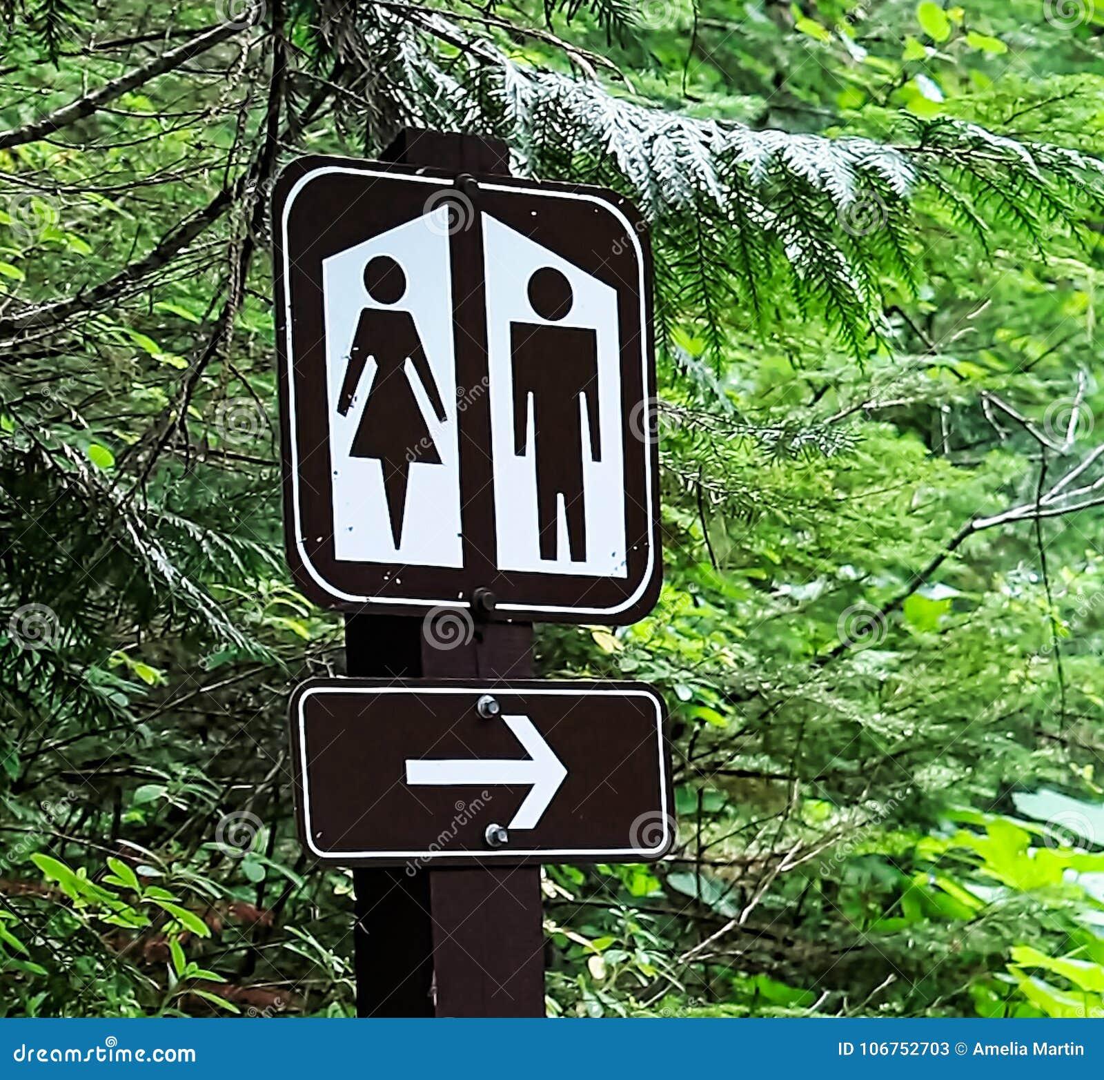 Bathroom sign with arrow Fancy Bathroom Sign With Direction Arrow Clusterbankco Bathroom Sign With Direction Arrow Stock Image Image Of Blaze