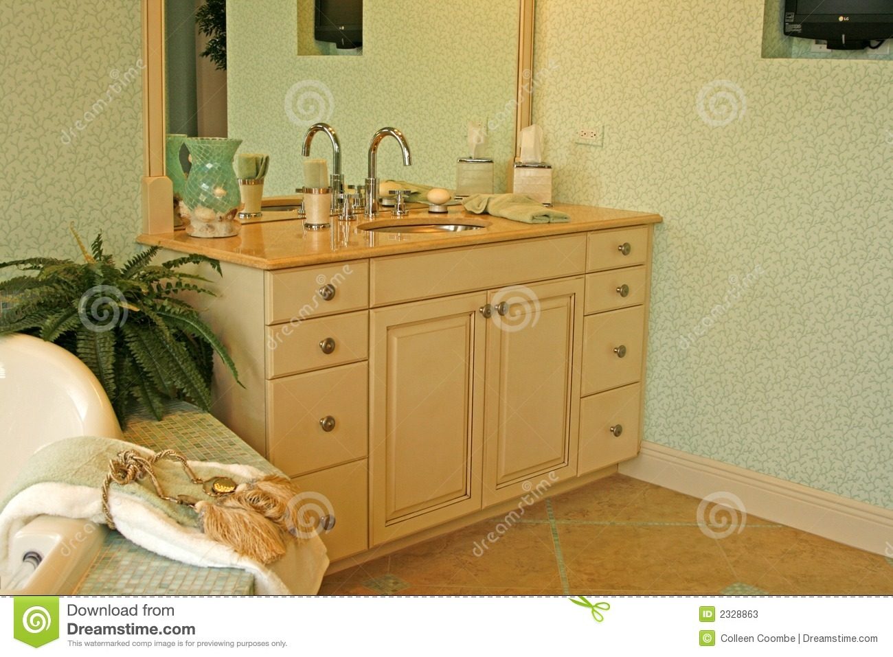 Bathroom Sink And Cabinet Stock Photos  Image 2328863 # Gabinete De Banheiro Modulado