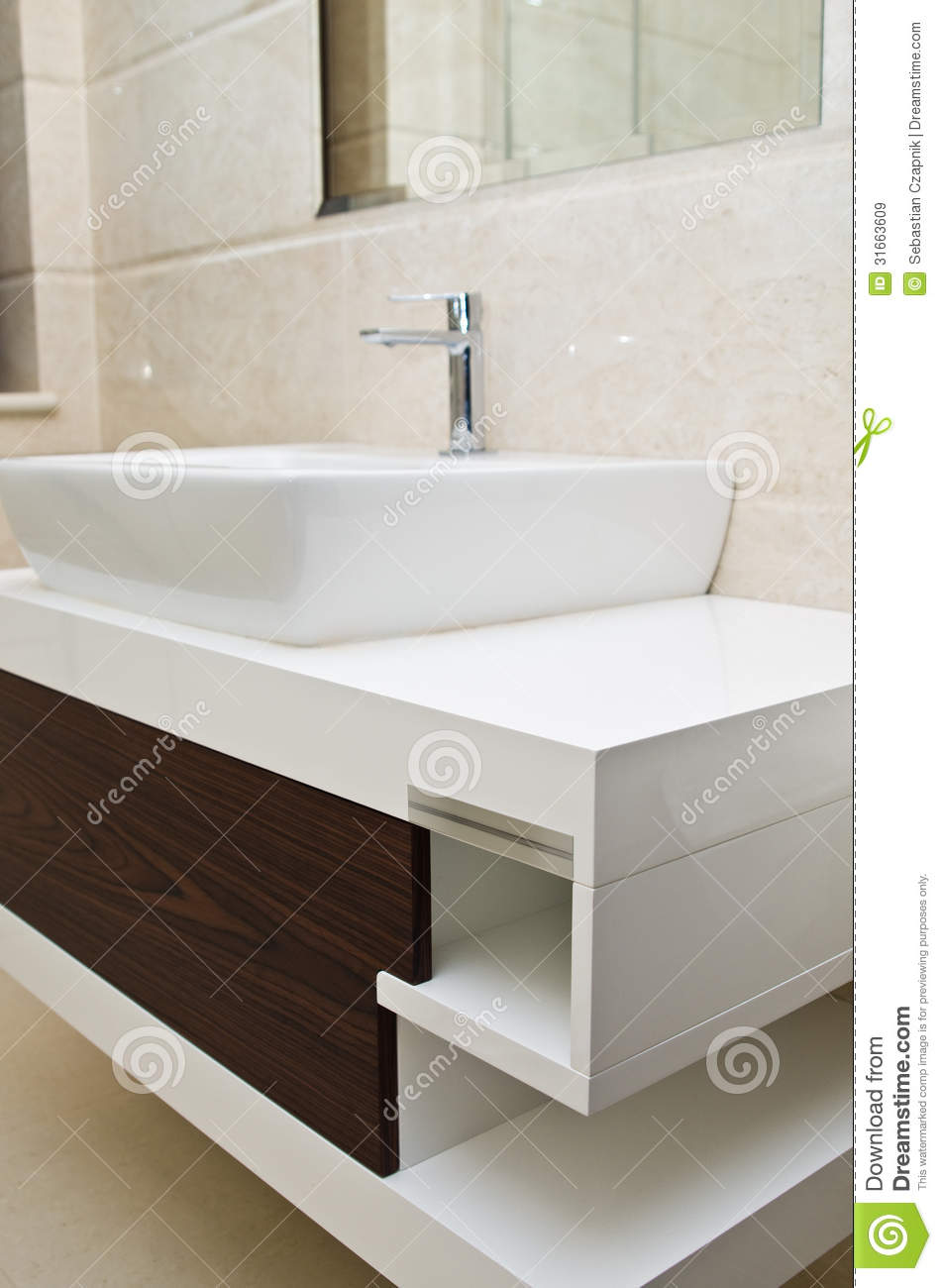 Bathroom Sink And Cabinet Bathroom Sink And Cabinet Royalty Free Stock Images Image 31663609