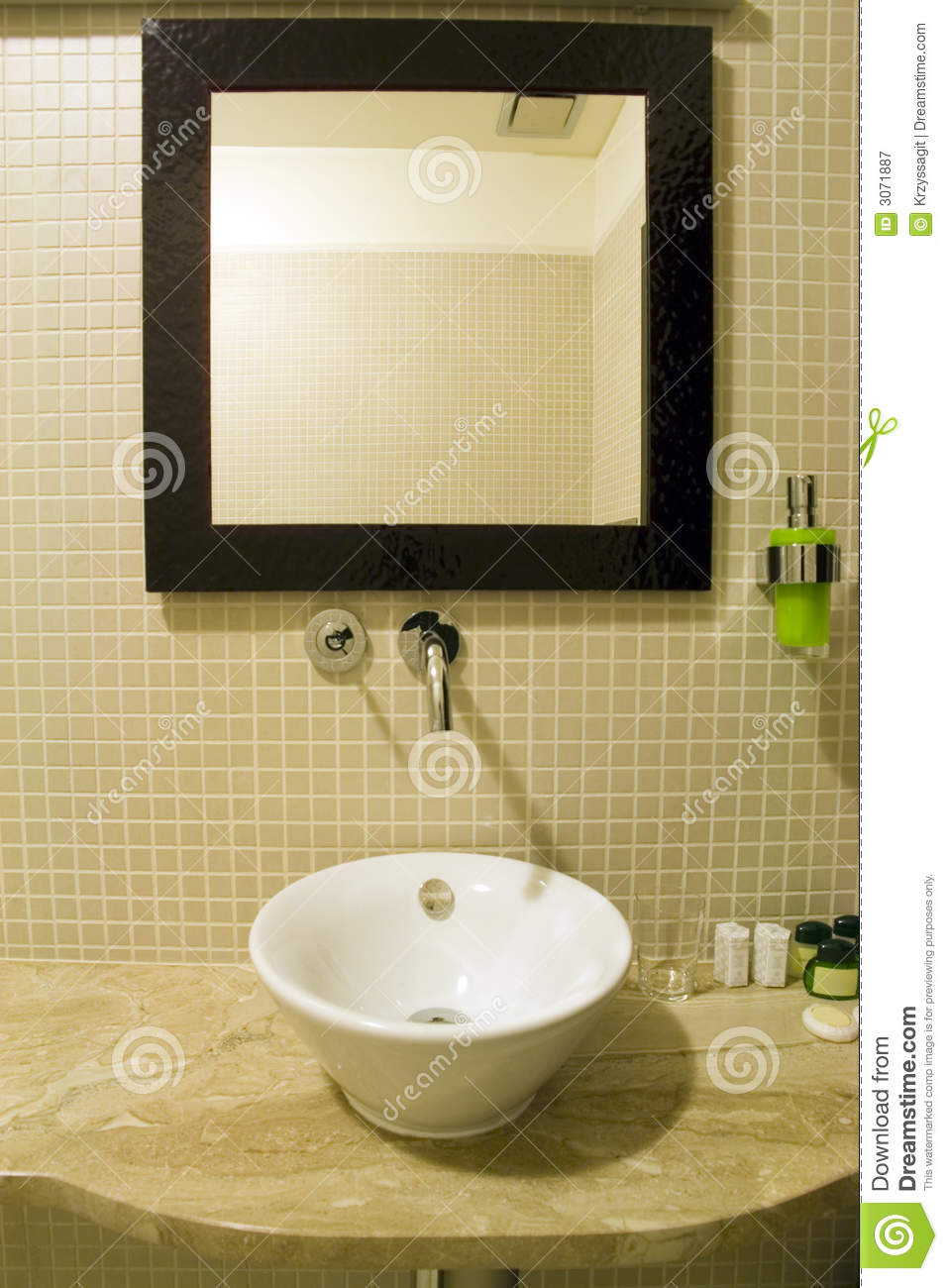 Bathroom sink and mirror - Bathroom Sink And Mirror