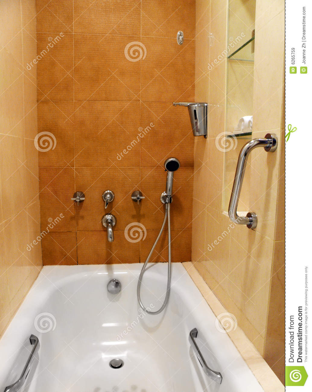 Bathroom Taps And Fittings Stock Image Image Of Handrail