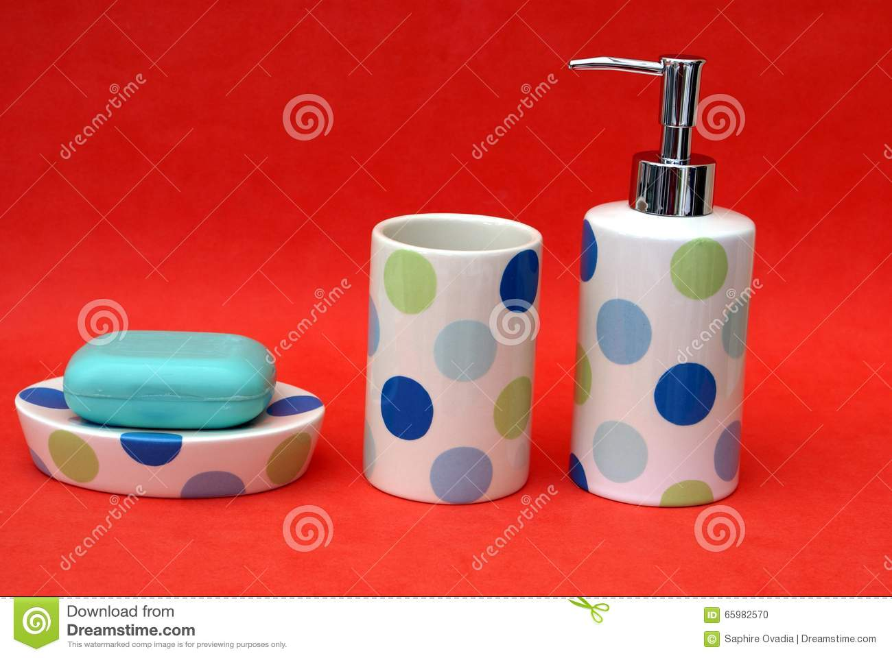 Royalty Free Stock Photo. Download Bathroom Toiletries.