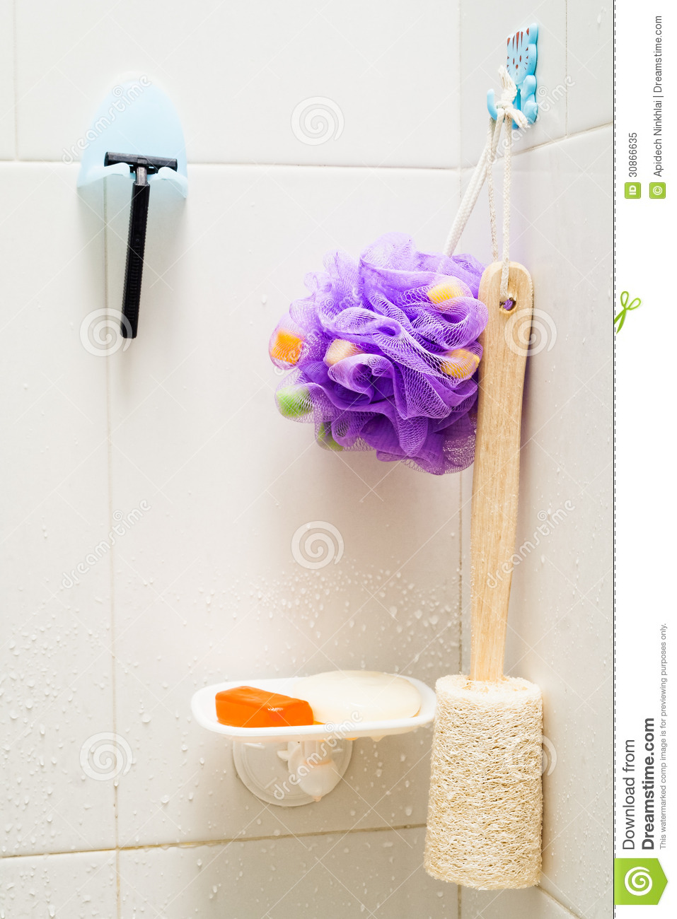 In the bathroom royalty free stock photo image 30866635 for Bathroom utensils