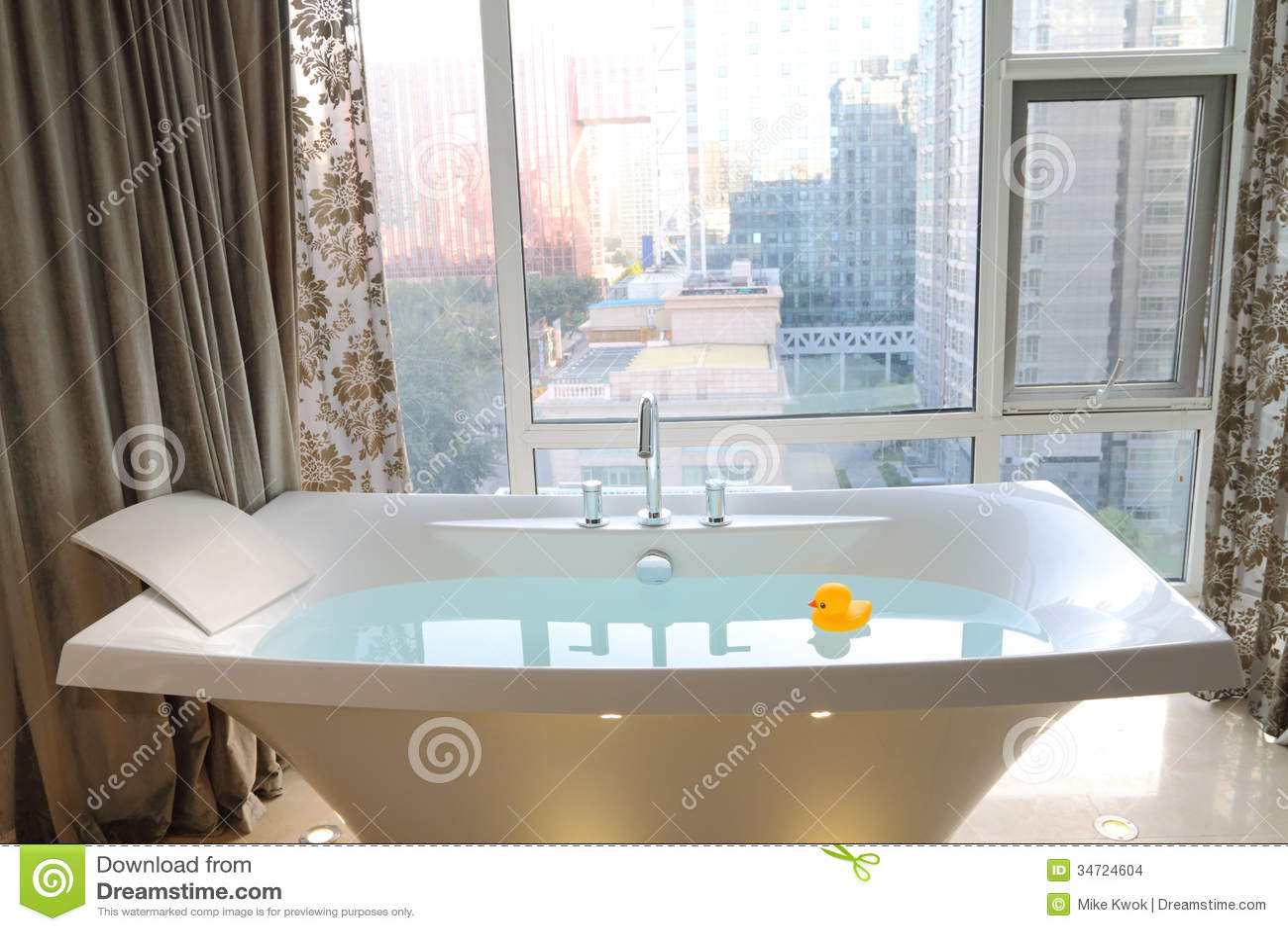 Bathtub stock photo. Image of ceramic, bathtub, duck - 34724604