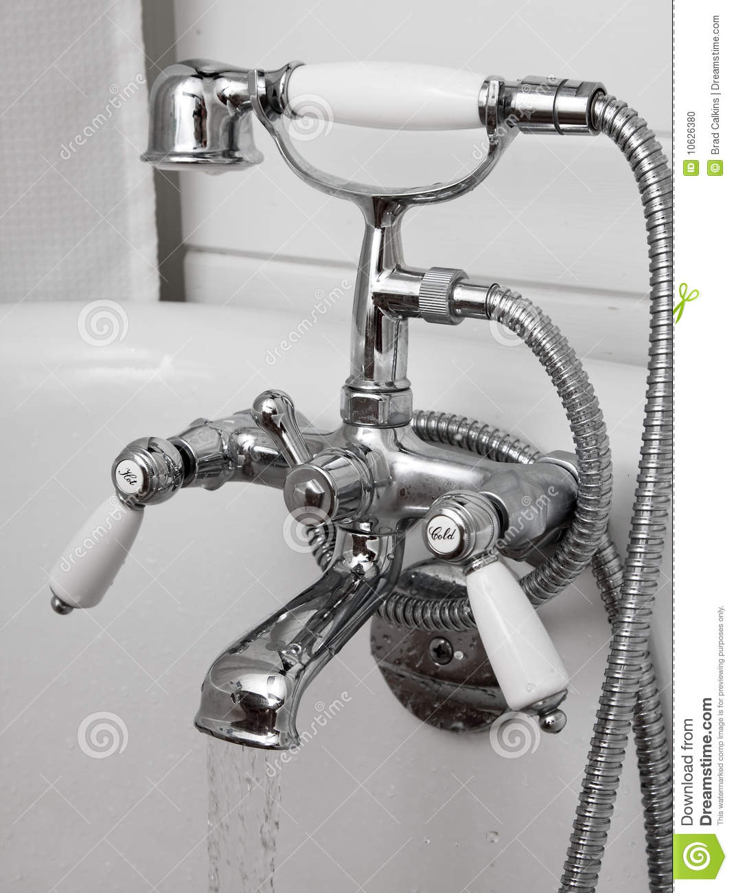Bathtub Taps Stock Photo Image 10626380