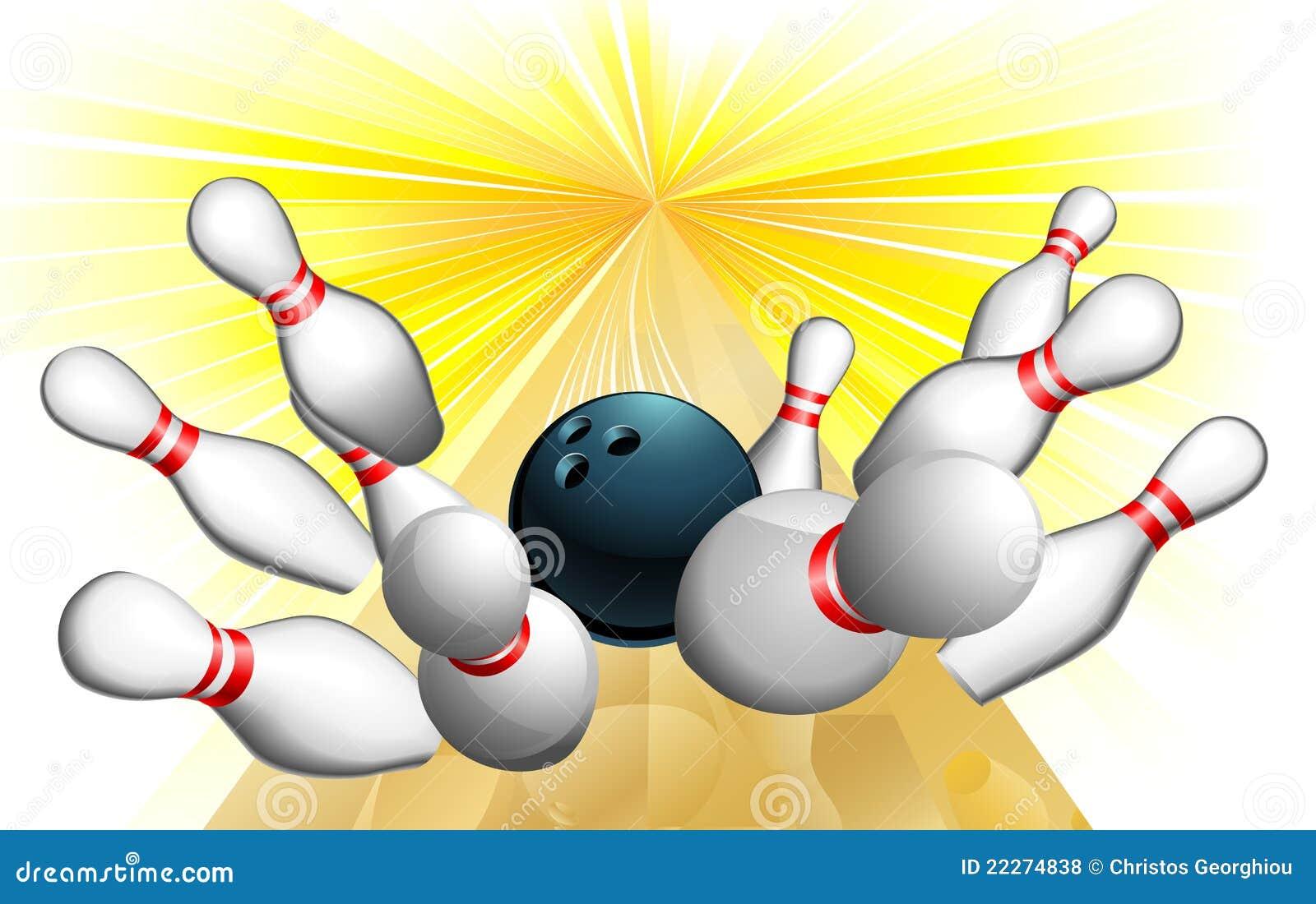 Batida da esfera de bowling