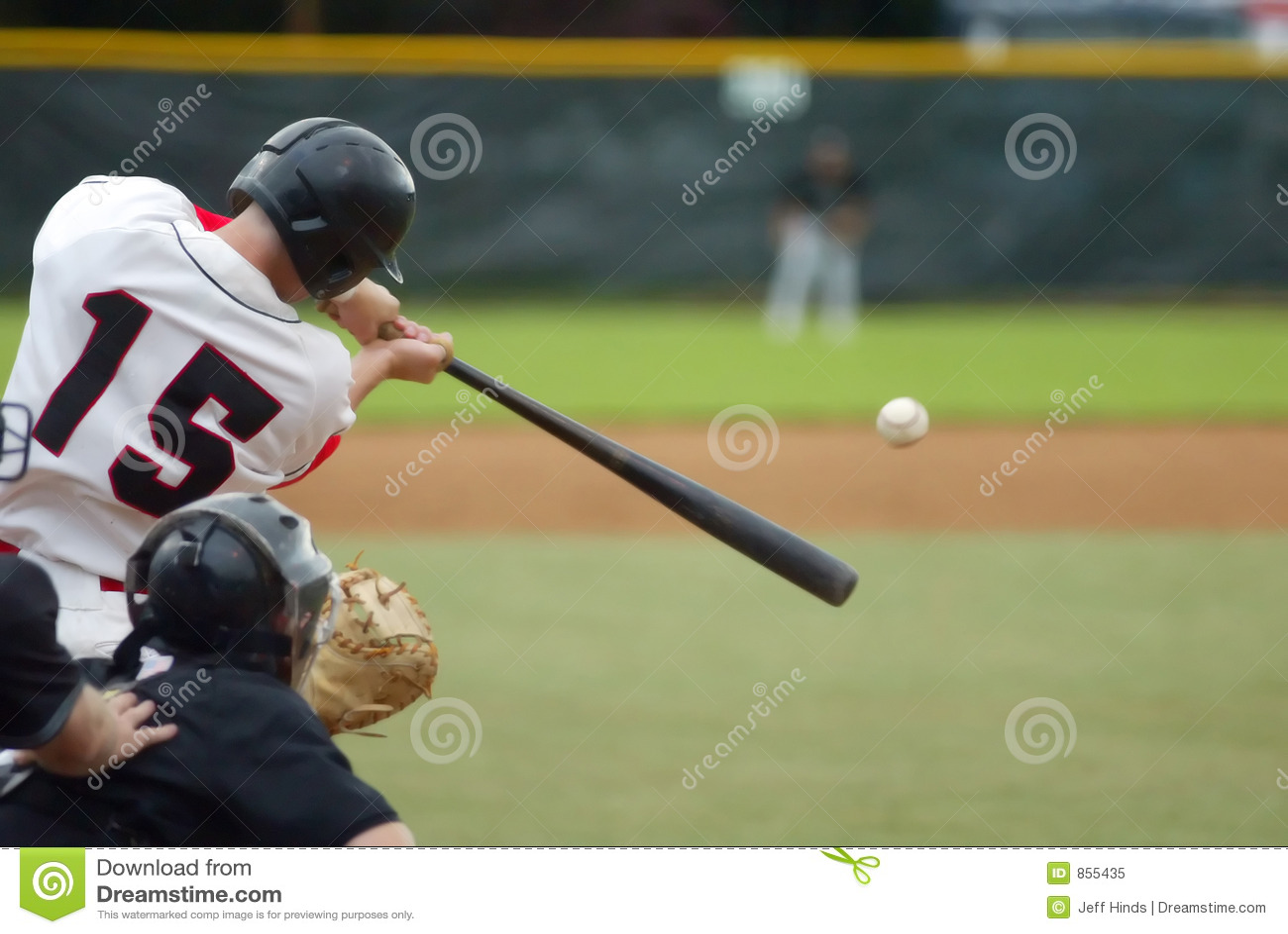 Batida do basebol!