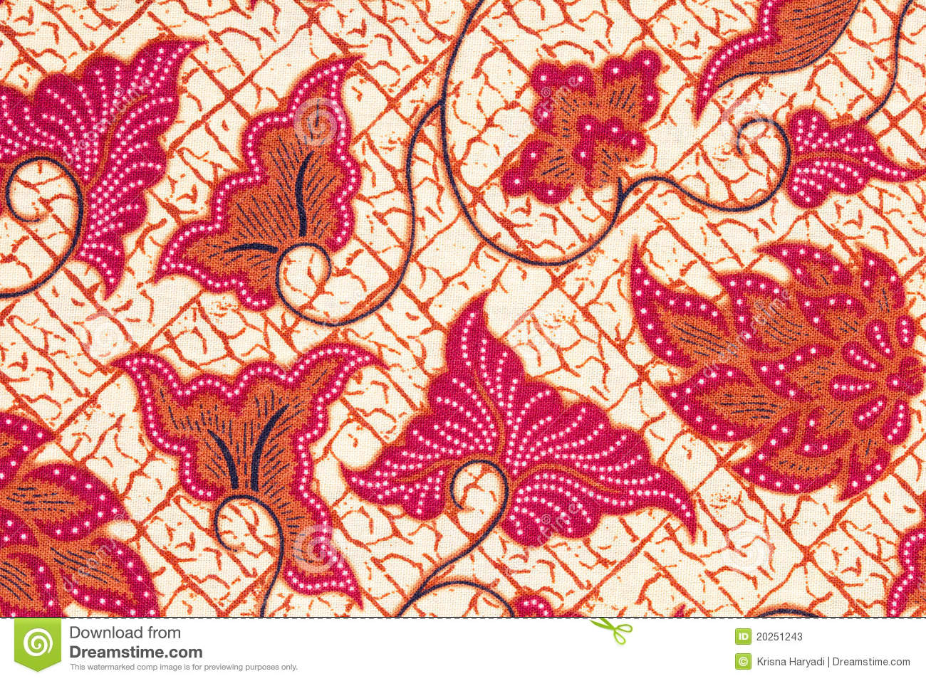 Batik Background. Stock Photos - Image: 20251243