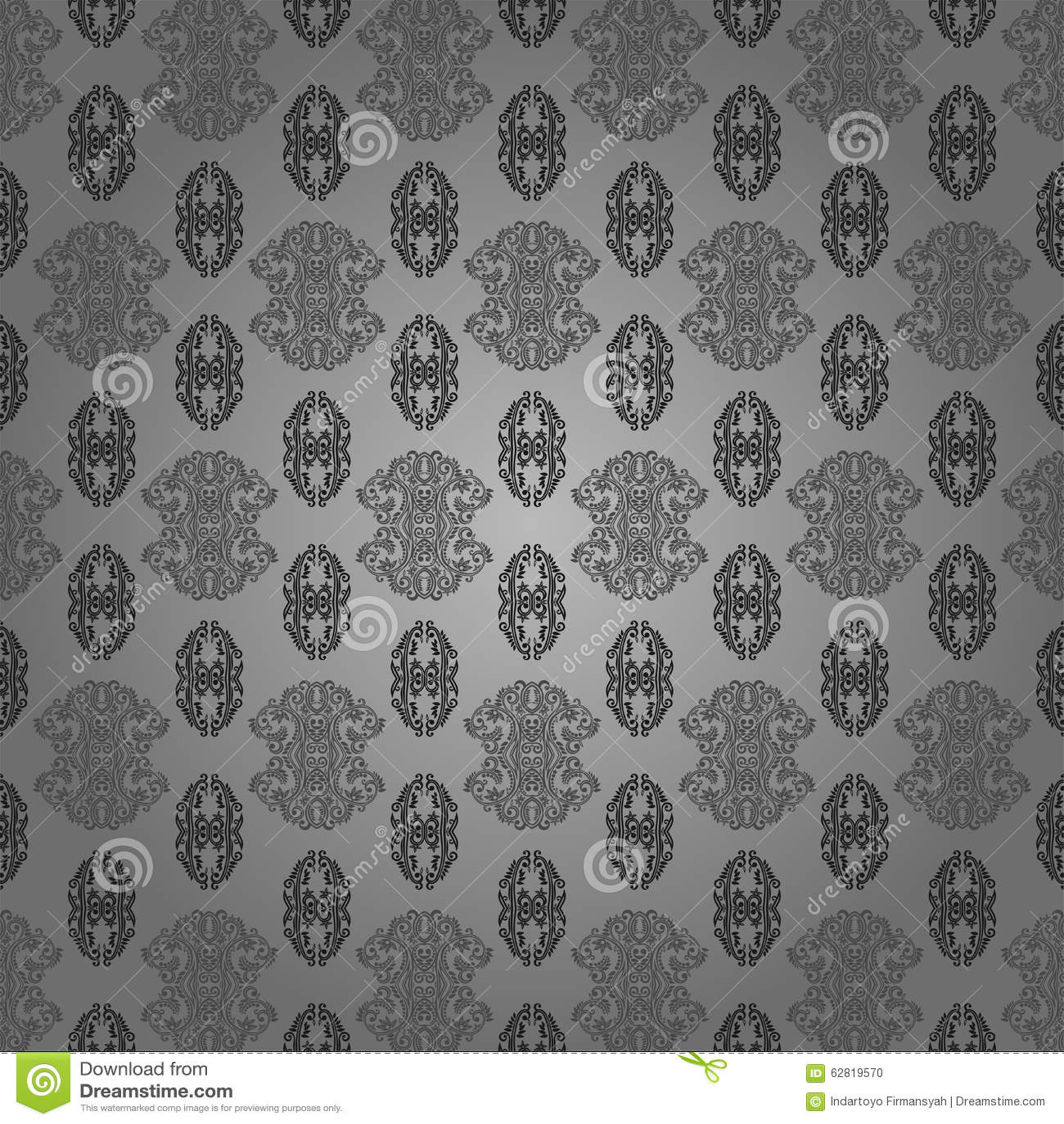 Batik De Papier Peint Moderne Illustration Stock Illustration Du