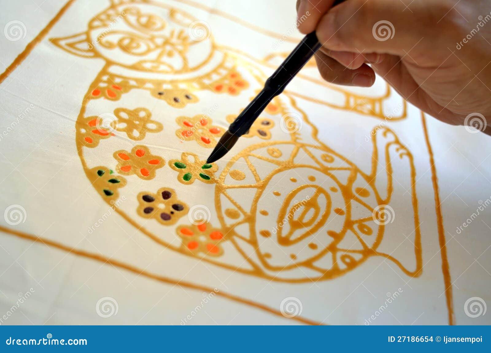 Batik de peinture